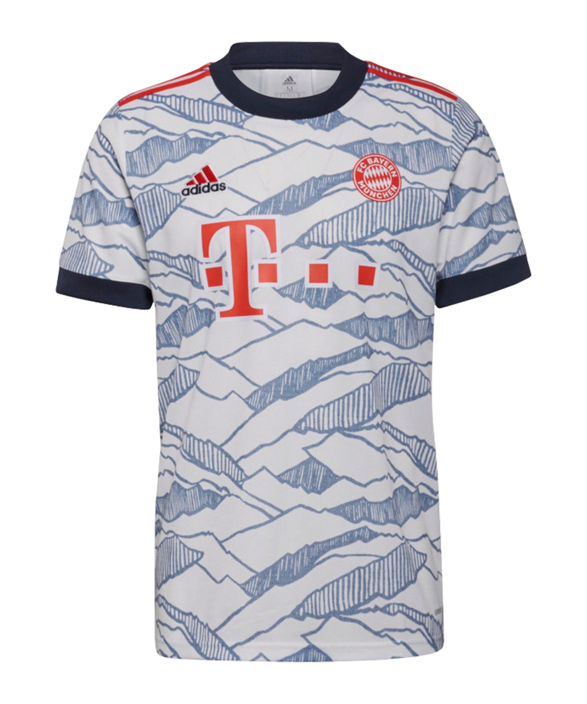 adidas FC Bayern München Trikot UCL 2021/2022 Rot - rot