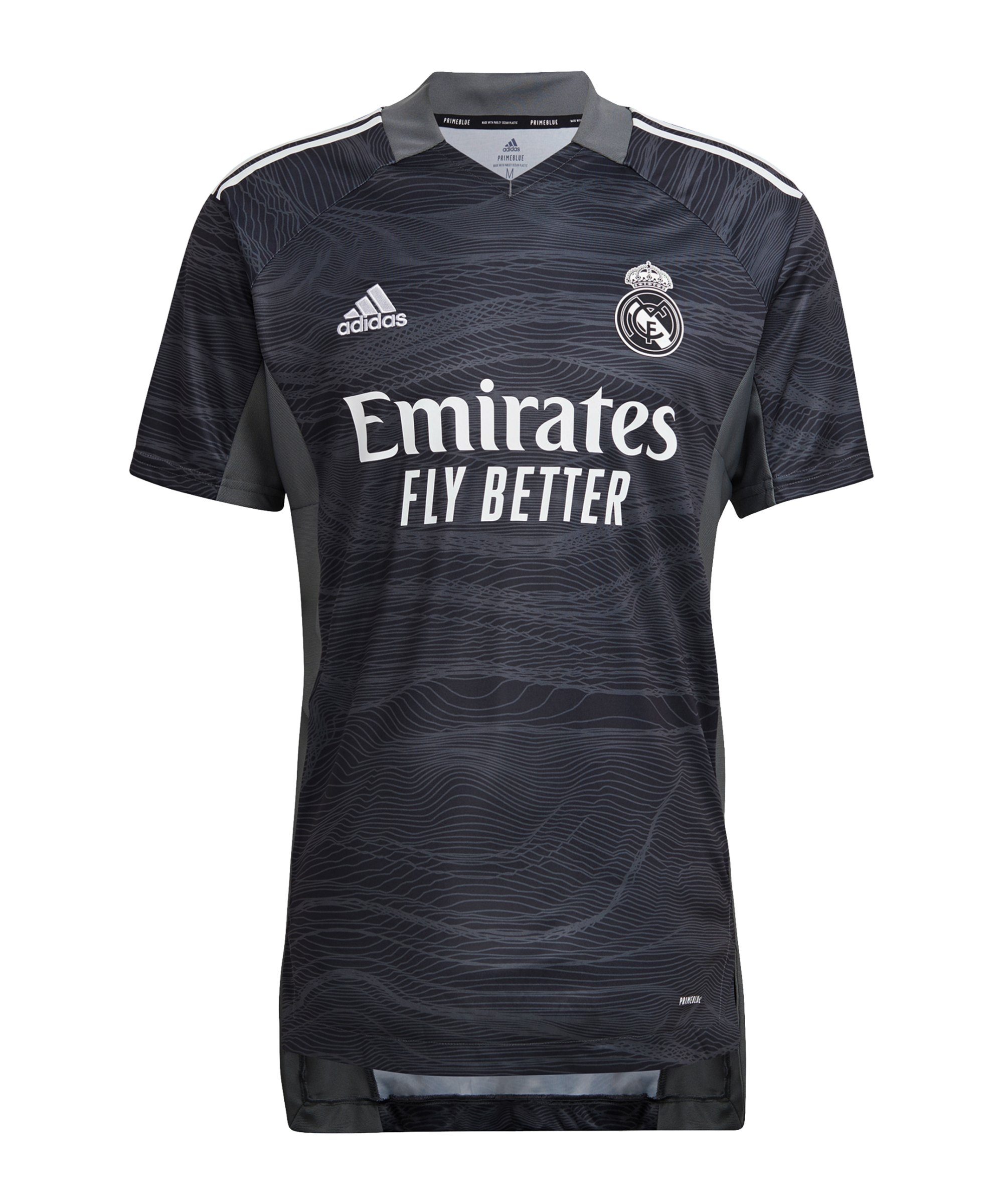 adidas Real Madrid TW-Trikot Home 2021/2022 Schwarz - schwarz