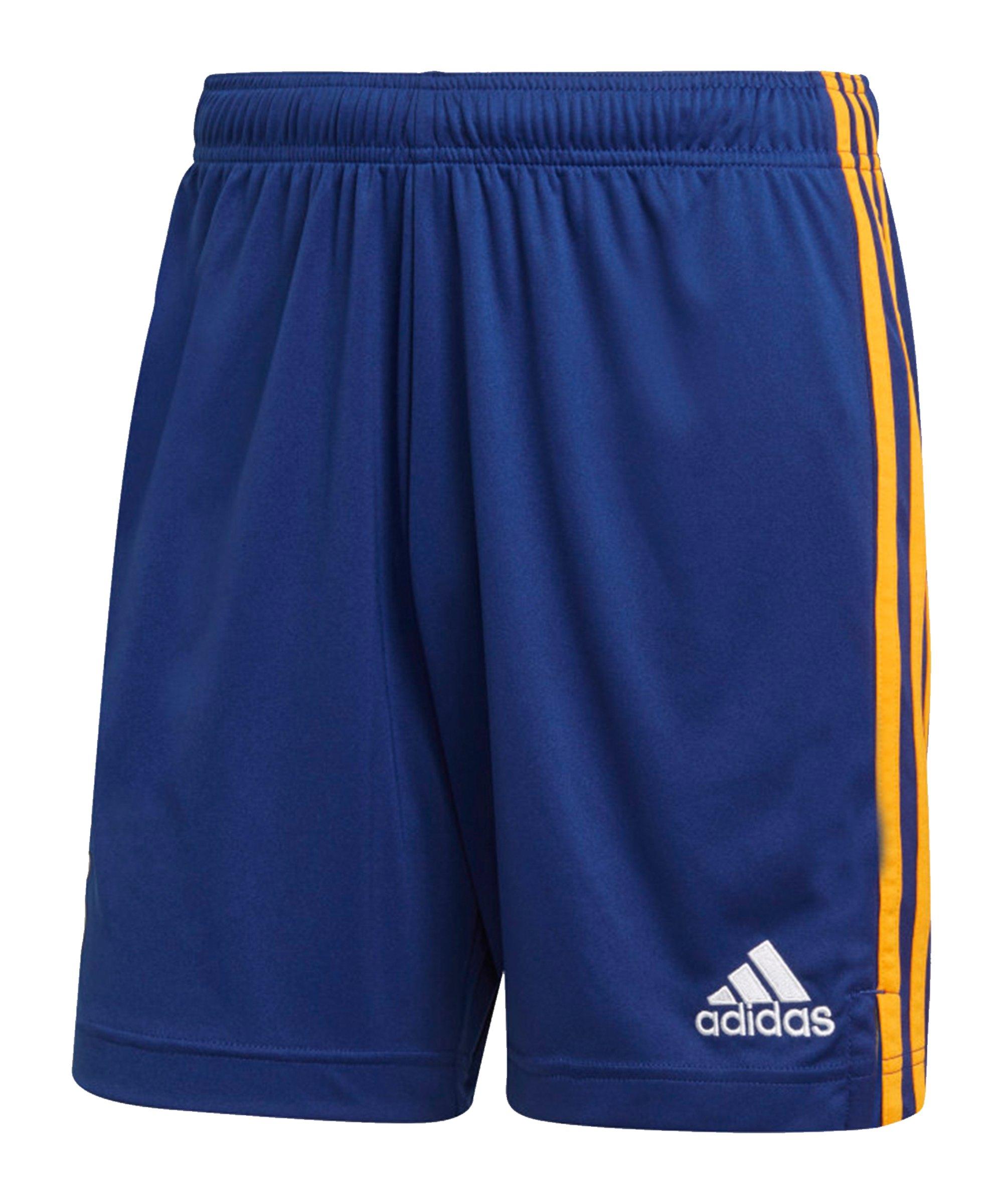 adidas Real Madrid Short Away 2021/2022 Blau - blau