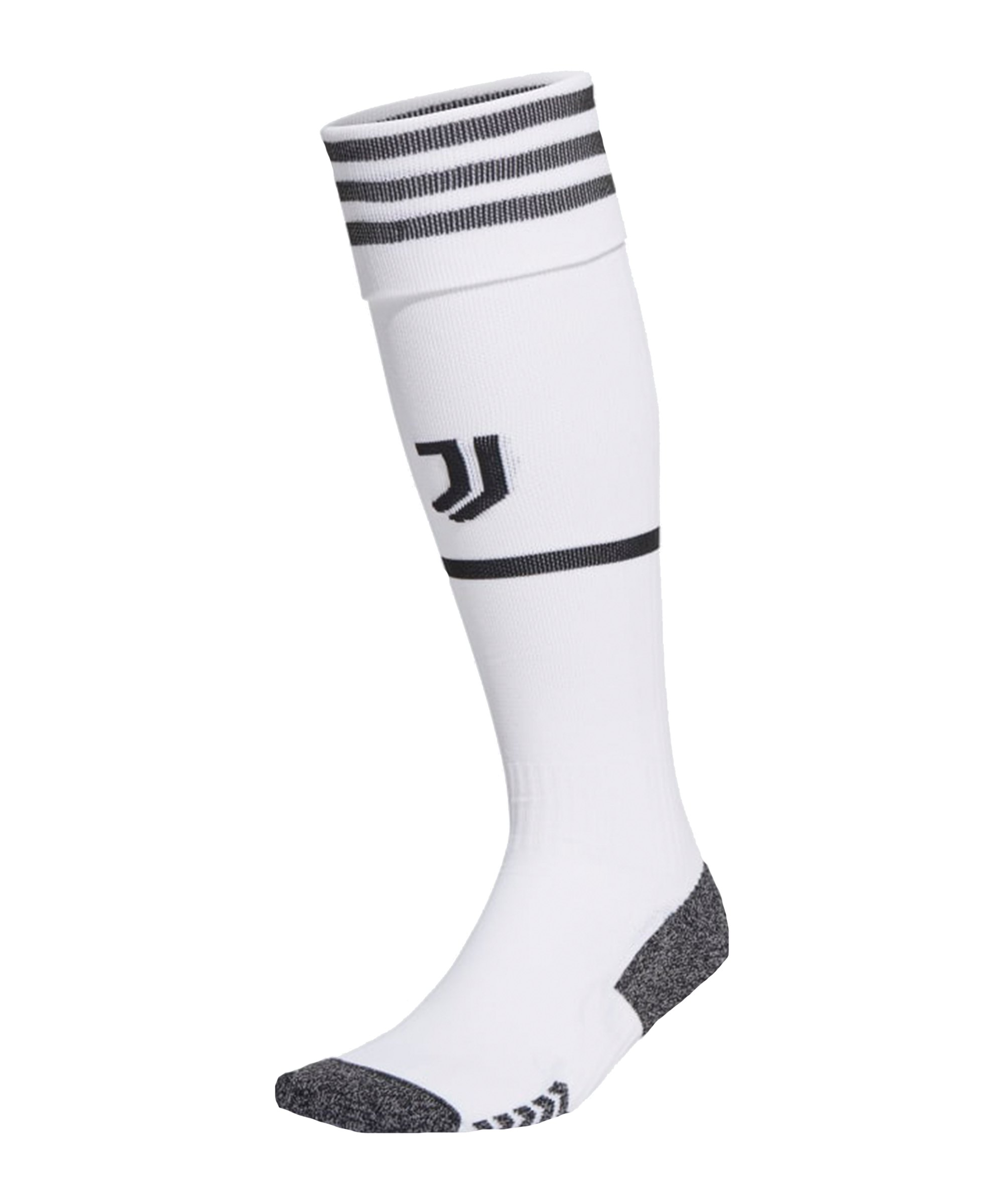 adidas Juventus Turin Stutzen Home 2021/2022 Weiss - weiss