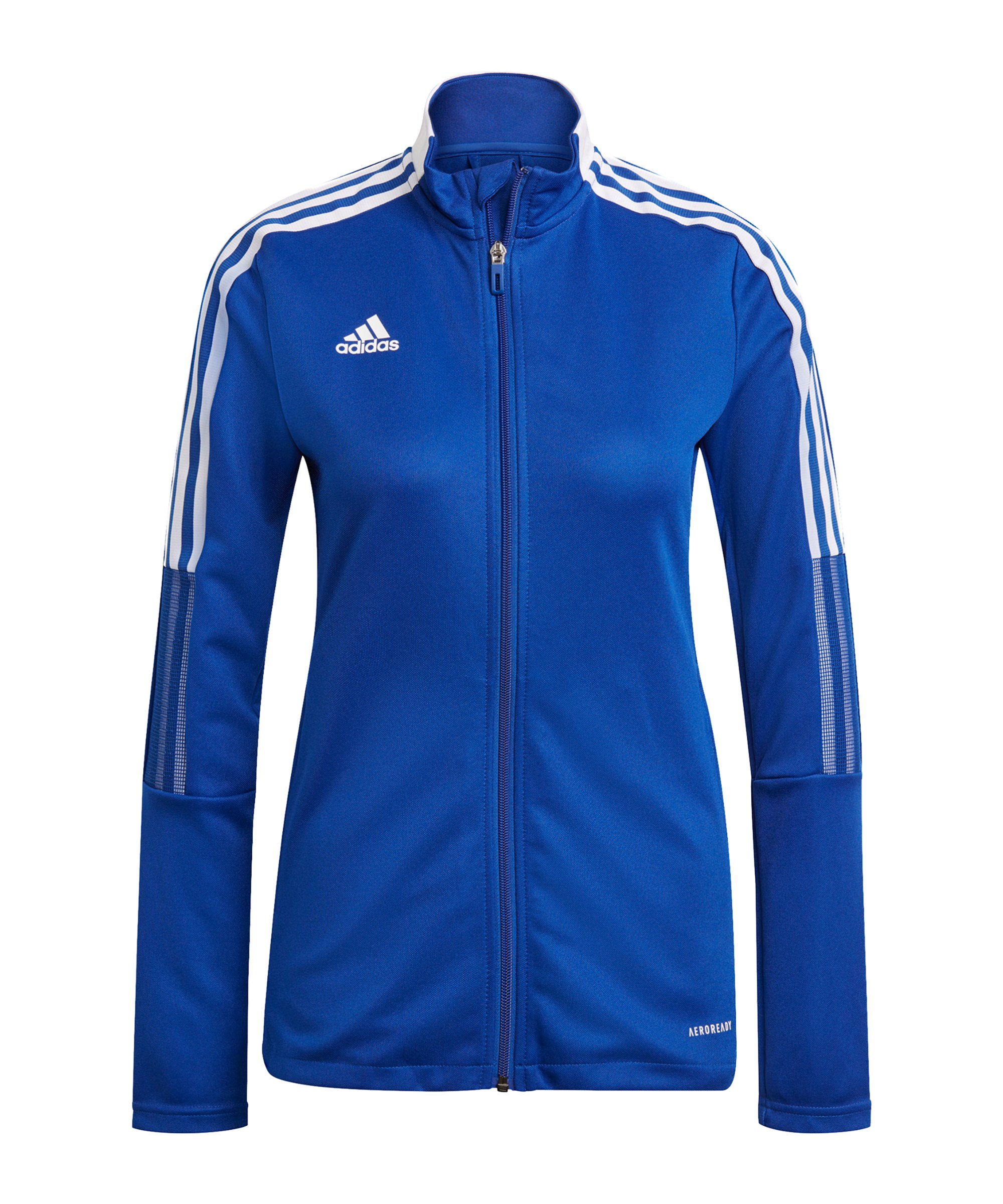 adidas Tiro 21 Trainingsjacke Damen Blau - blau