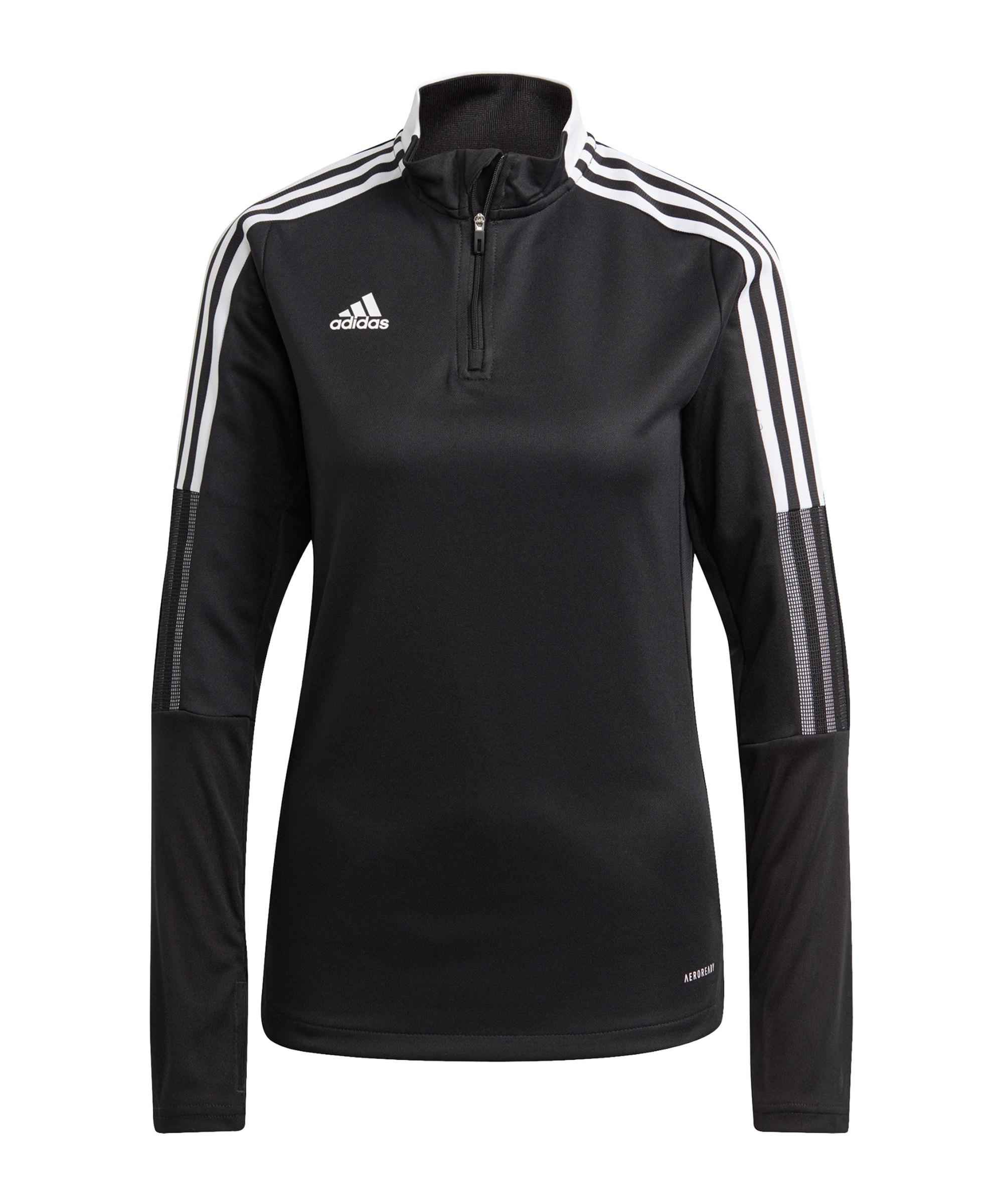 adidas Tiro 21 Trainingstop Damen Schwarz - schwarz