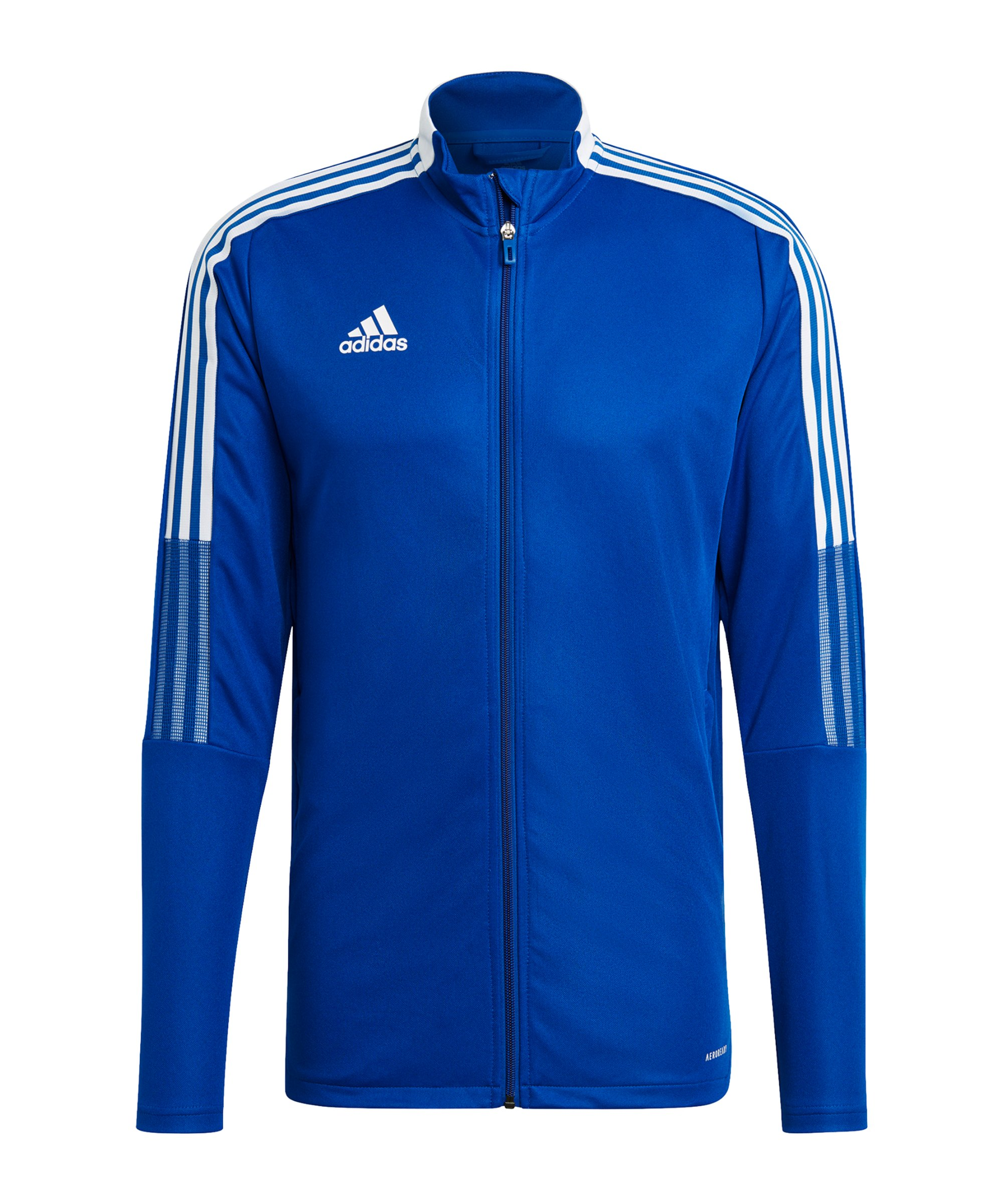 adidas Tiro 21 Trainingsjacke Blau - blau