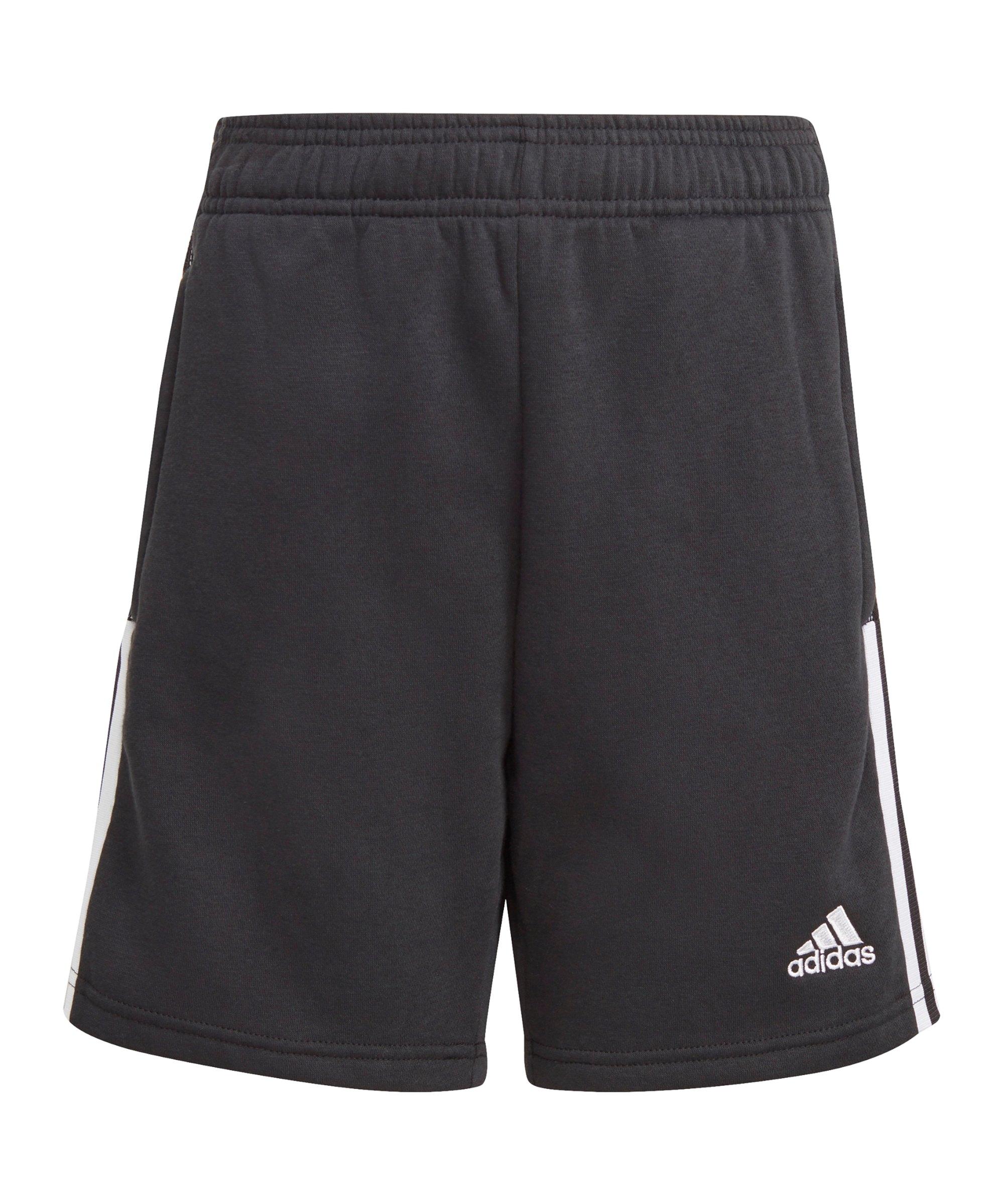 adidas Tiro 21 Sweat Short Kids Schwarz - schwarz