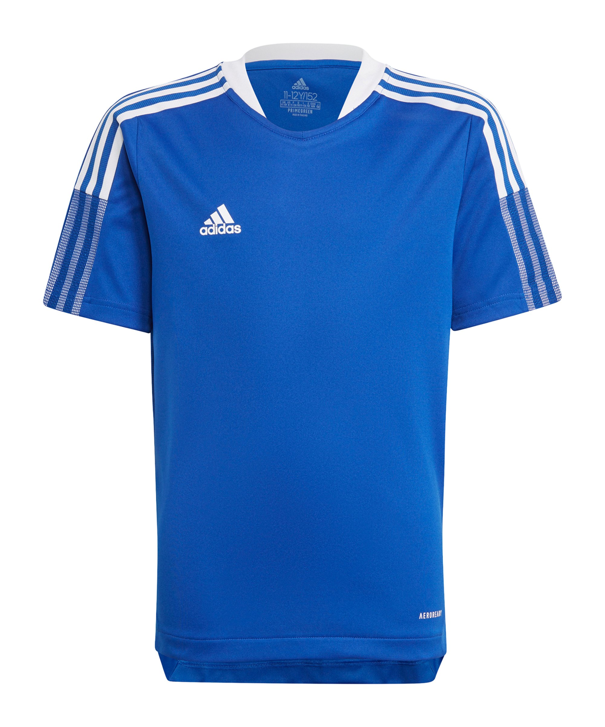 adidas Tiro 21 Trainingsshirt Kids Blau - blau