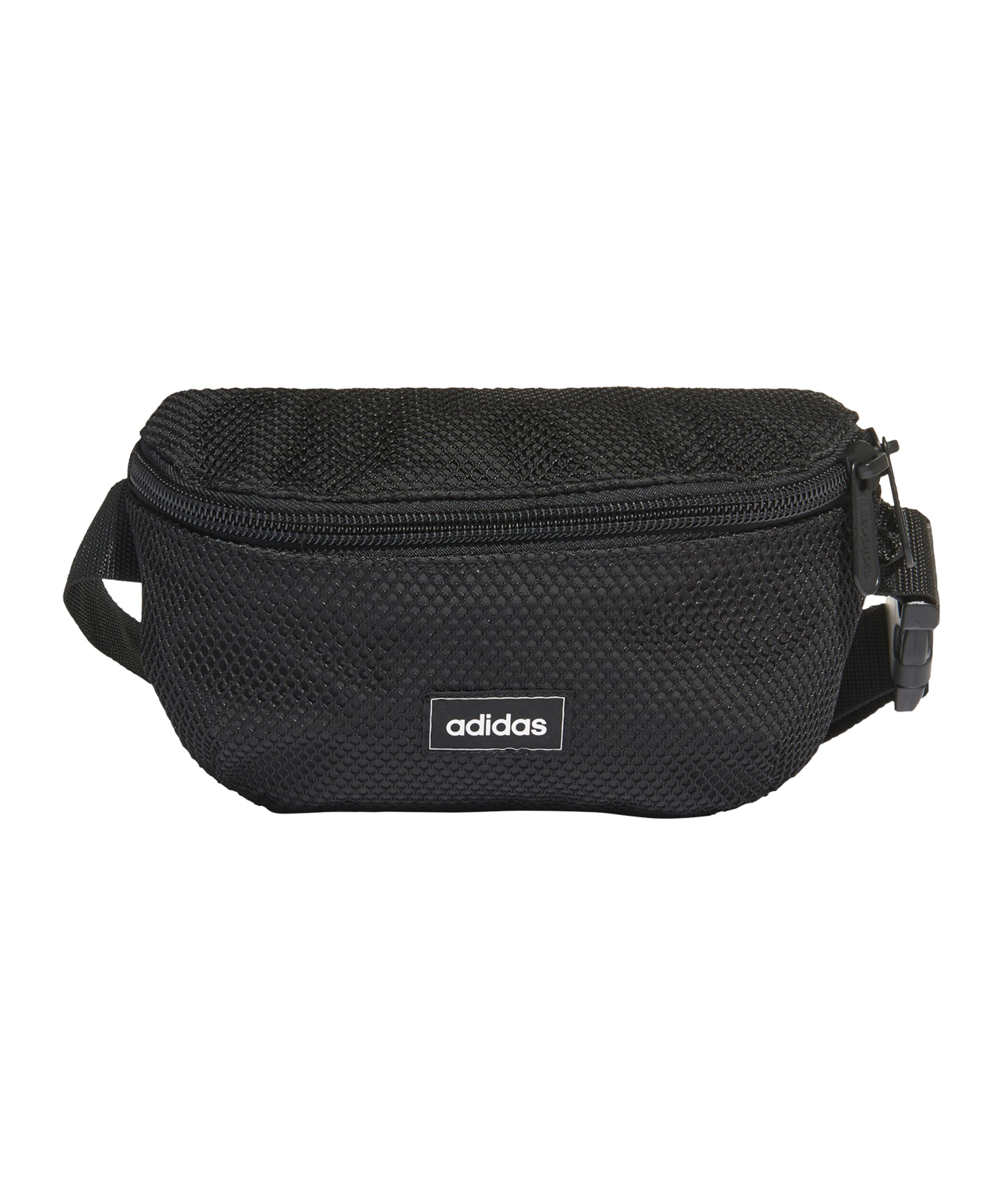 adidas Mesh Hüfttasche Schwarz - schwarz