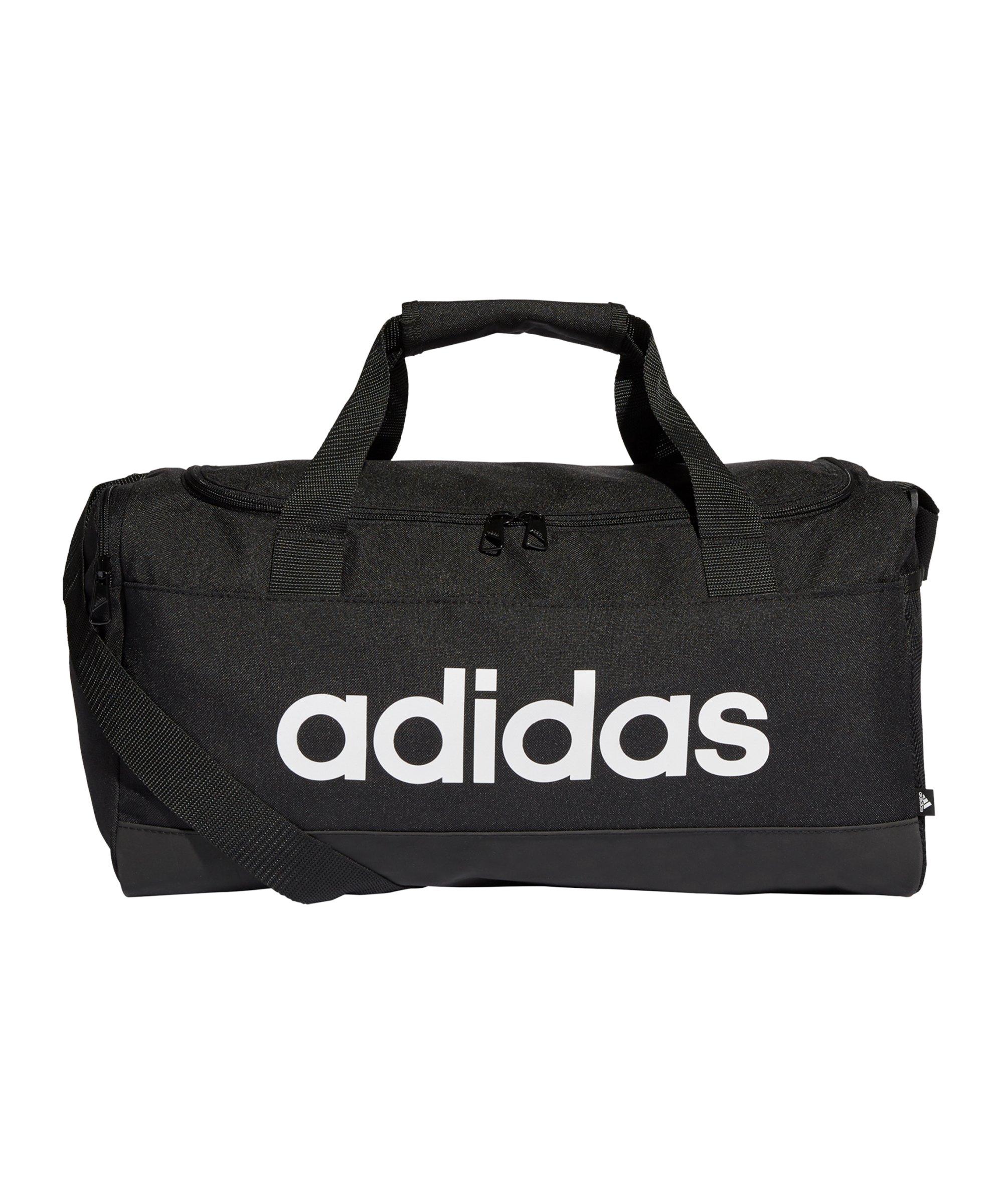 adidas Essentials Duffelbag Gr. XS Schwarz Weiss - schwarz