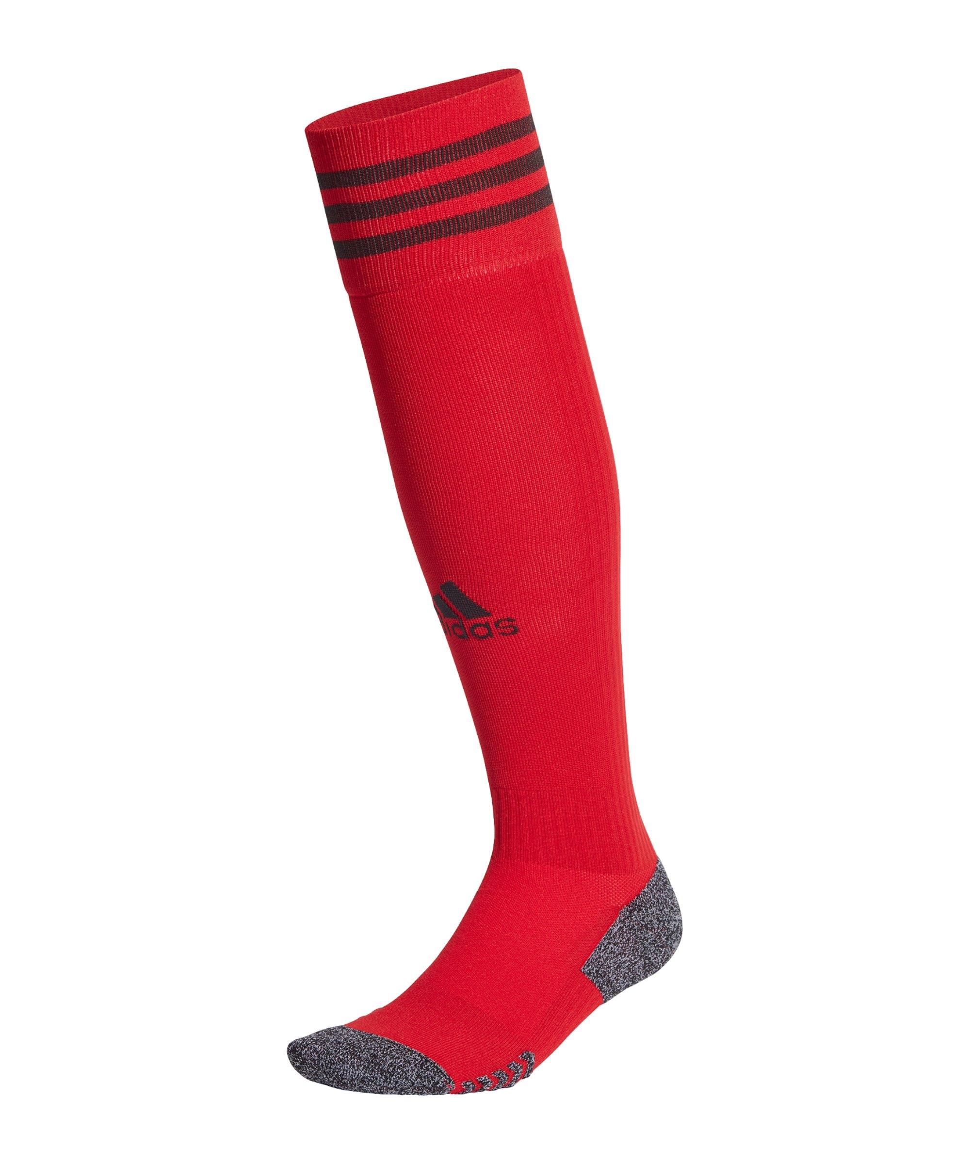 adidas Adisock 21 Strumpfstutzen Rot Schwarz - rot