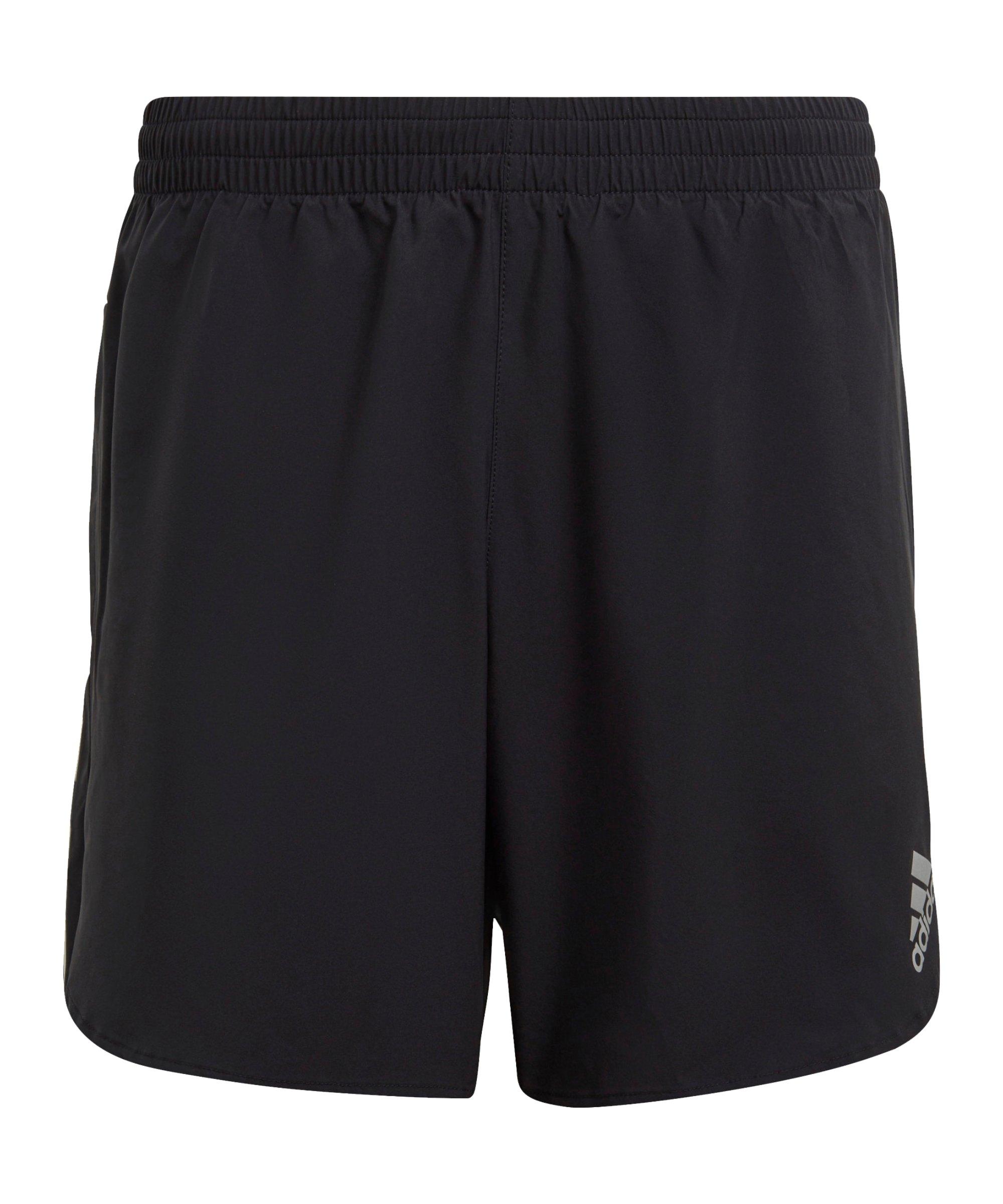 adidas Primblue Short Running Schwarz - schwarz