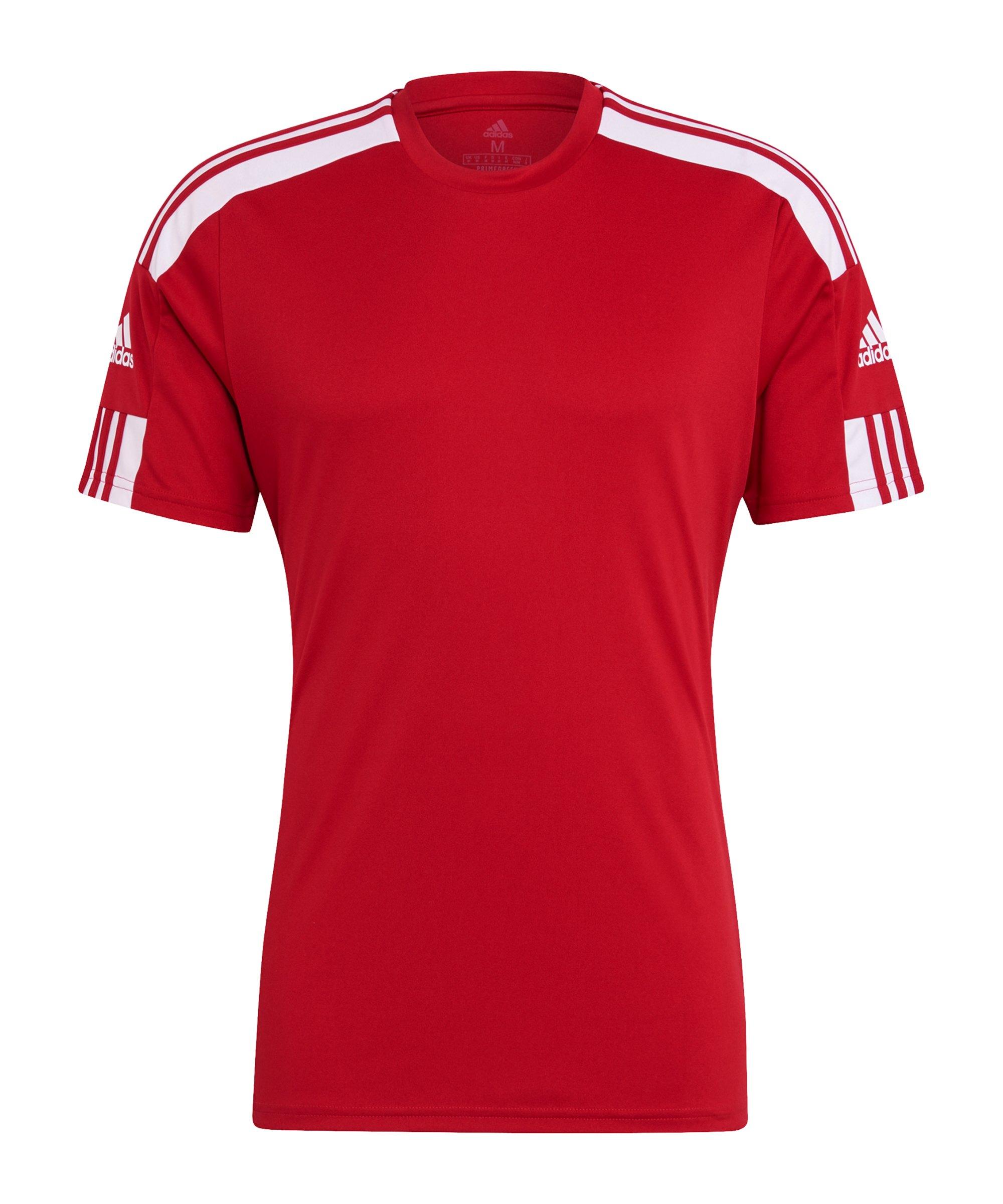 adidas Squadra 21 Trikot Rot Weiss - rot