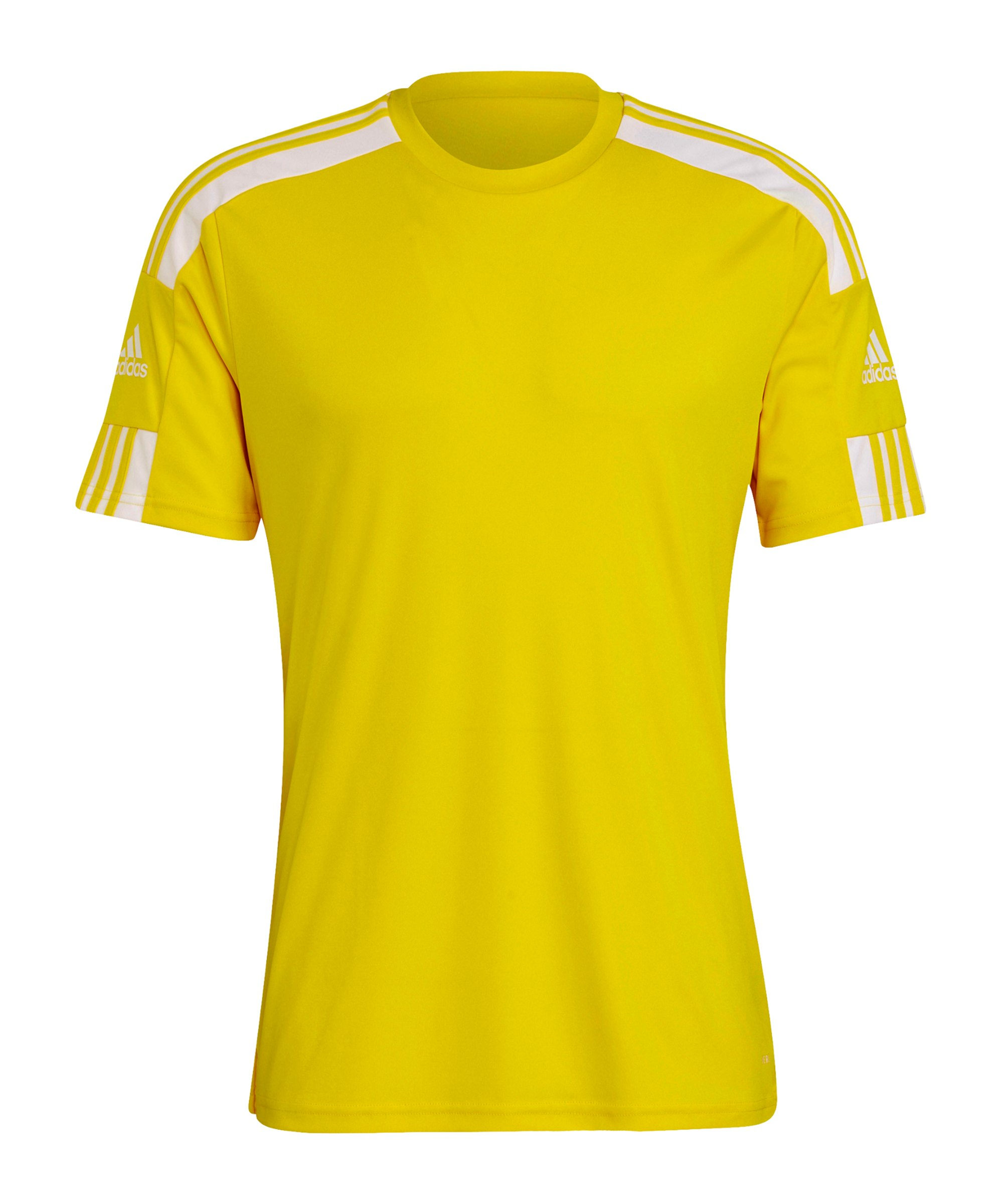 adidas Squadra 21 Trikot Gelb Weiss - gelb
