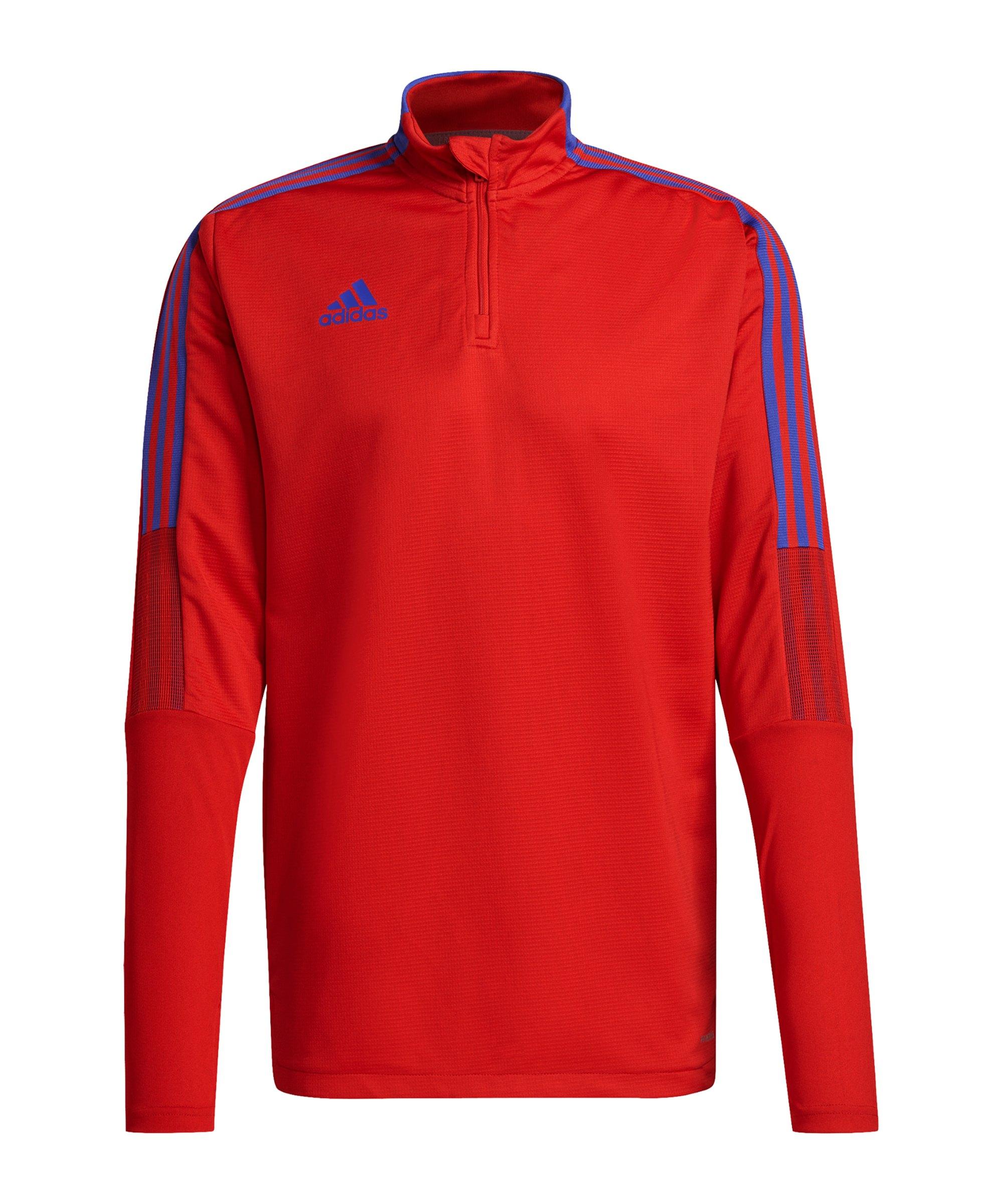 adidas Tiro Primeblue Top Training Rot Blau - rot