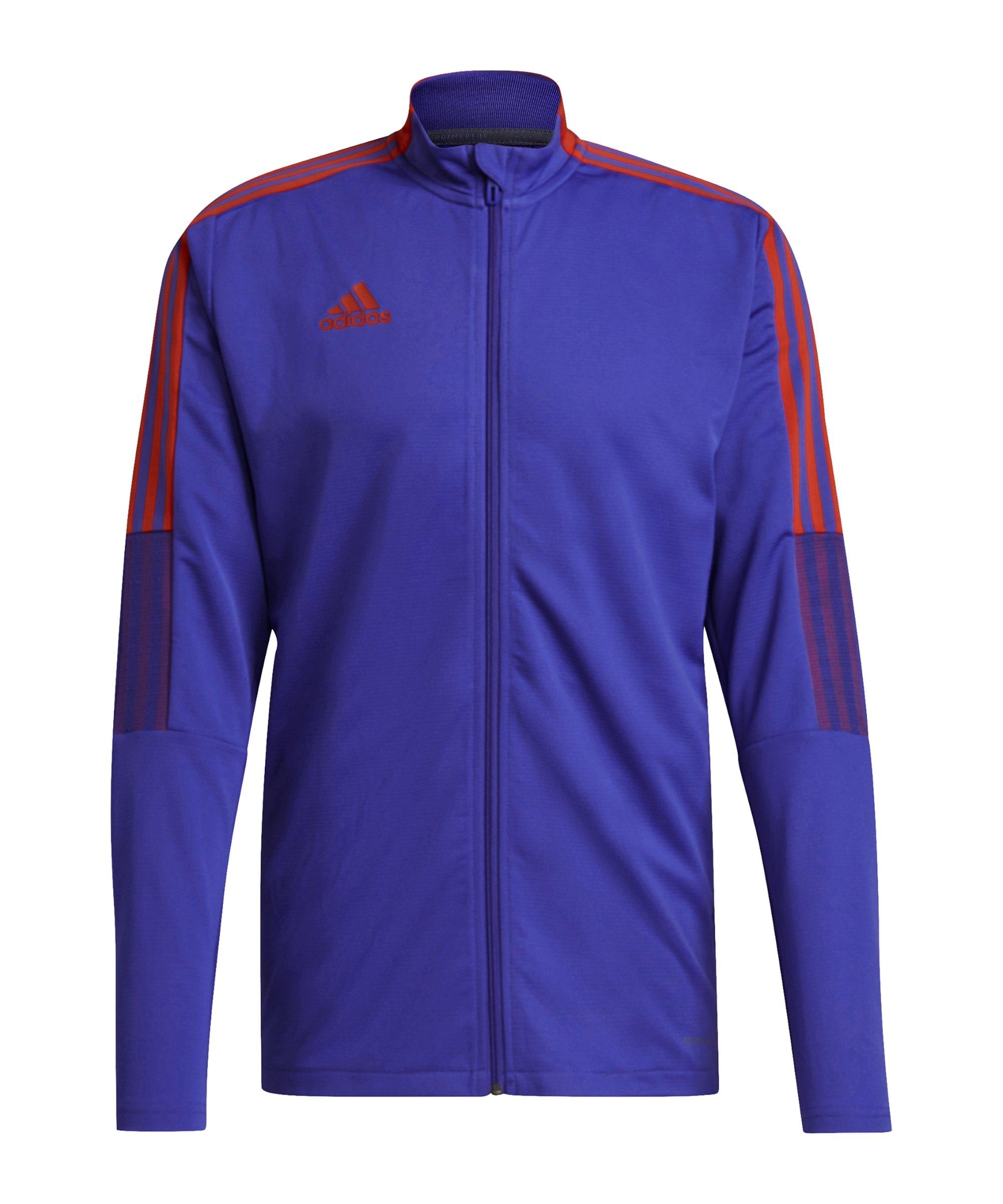 adidas Tiro Primeblue Trainingsjacke Blau - blau