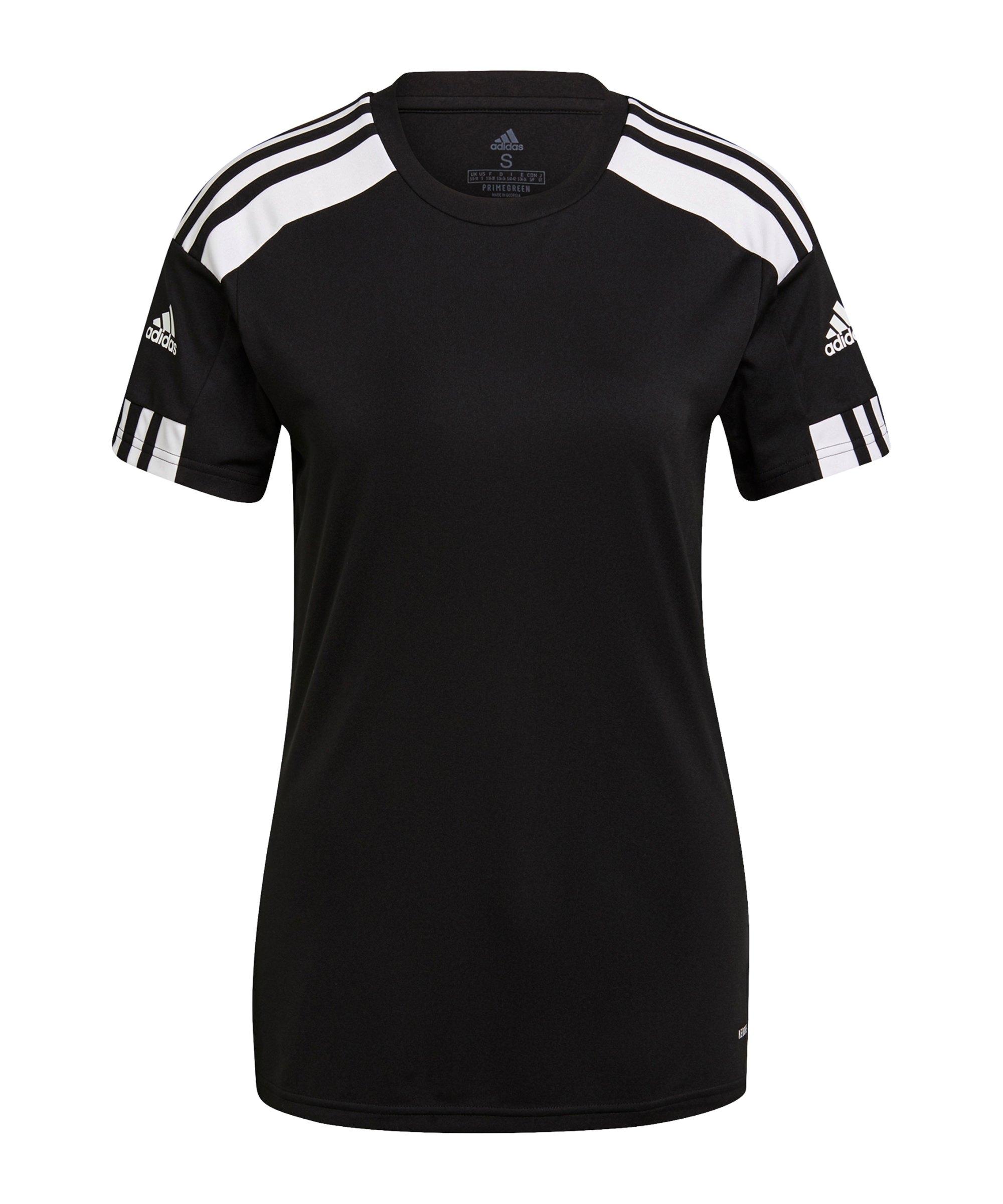 adidas Squadra 21 Trikot Damen Schwarz Weiss - schwarz