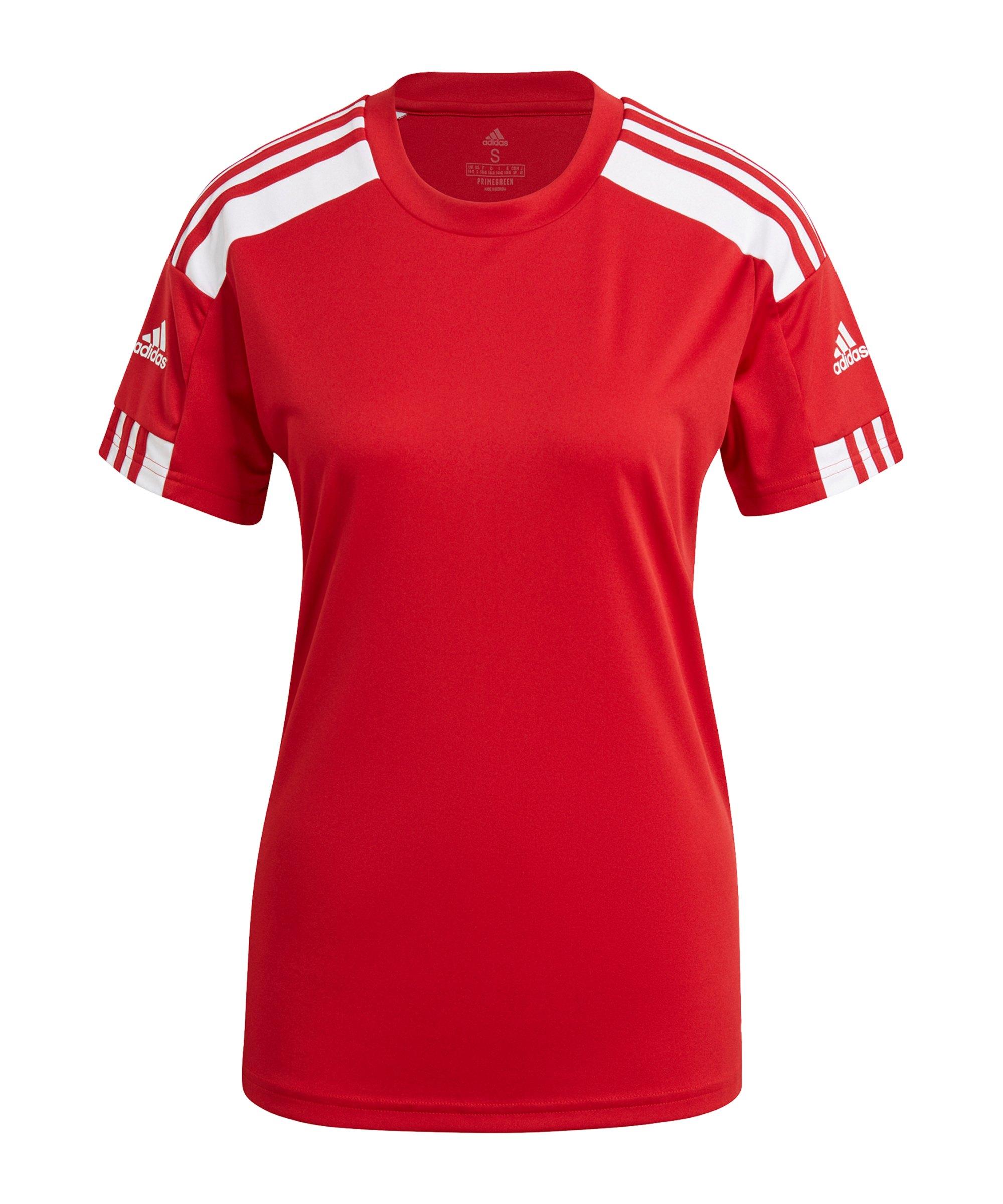 adidas Squadra 21 Trikot Damen Rot Weiss - rot