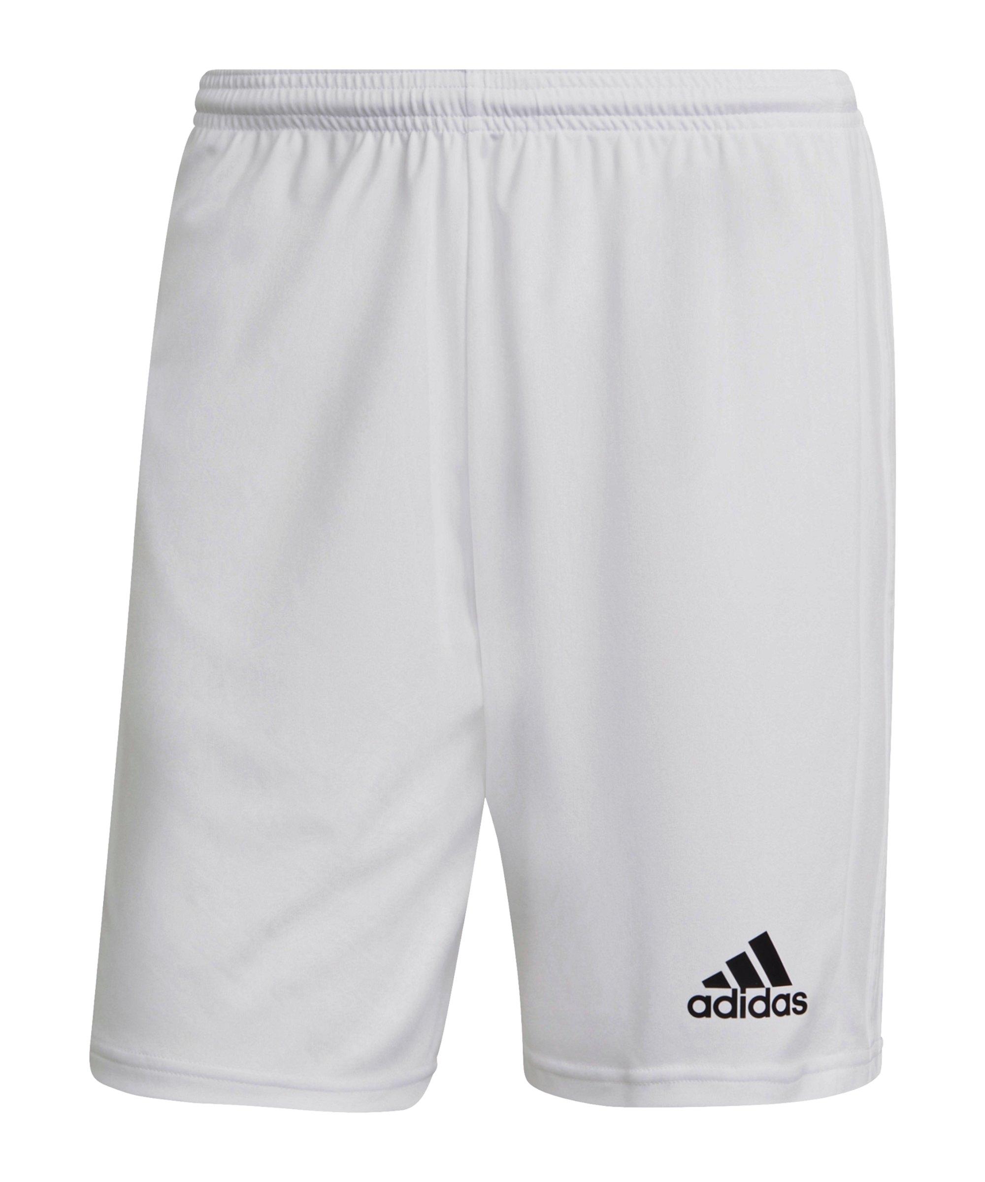 adidas Squadra 21 Short Weiss - weiss