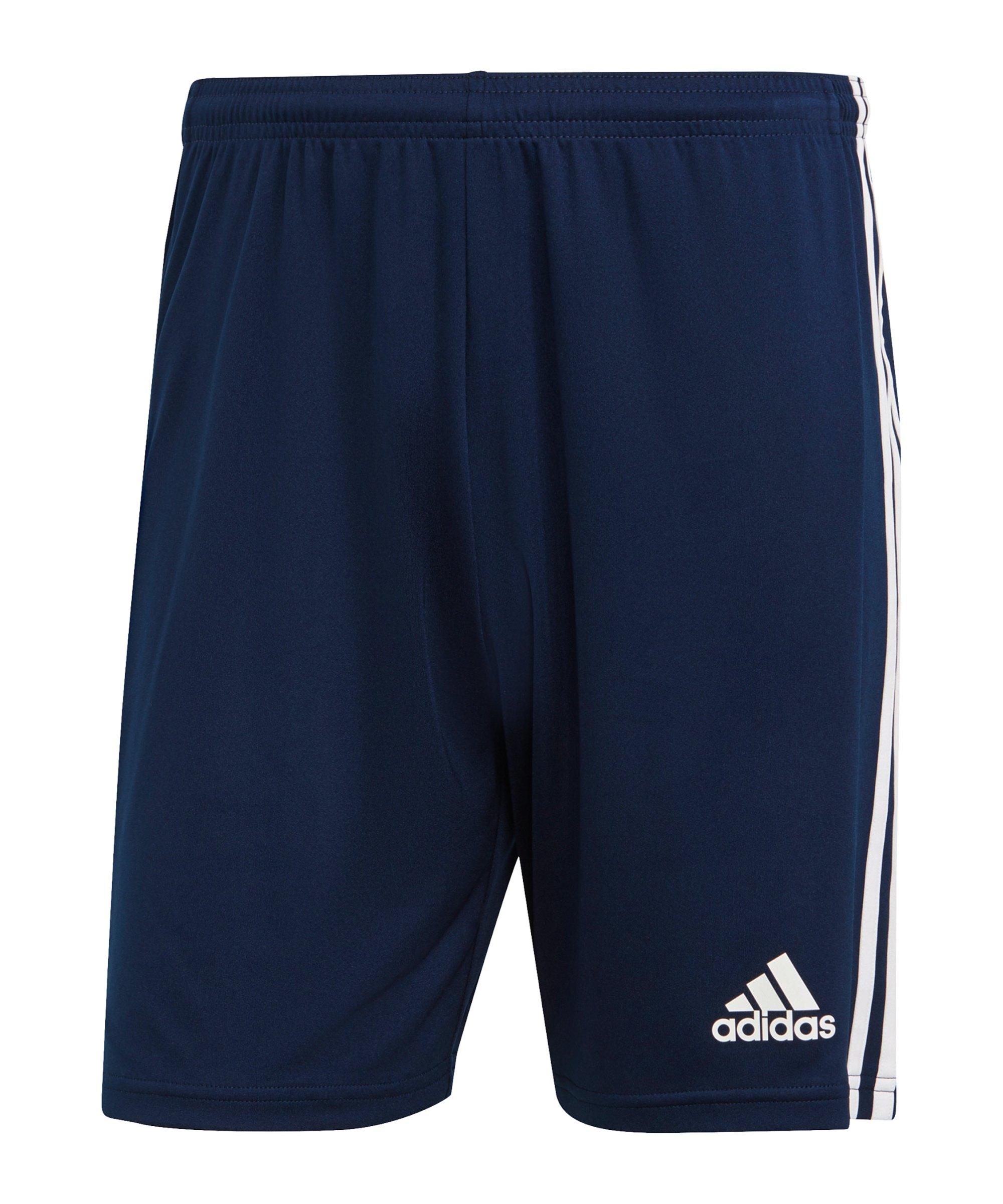 adidas Squadra 21 Short Blau - blau
