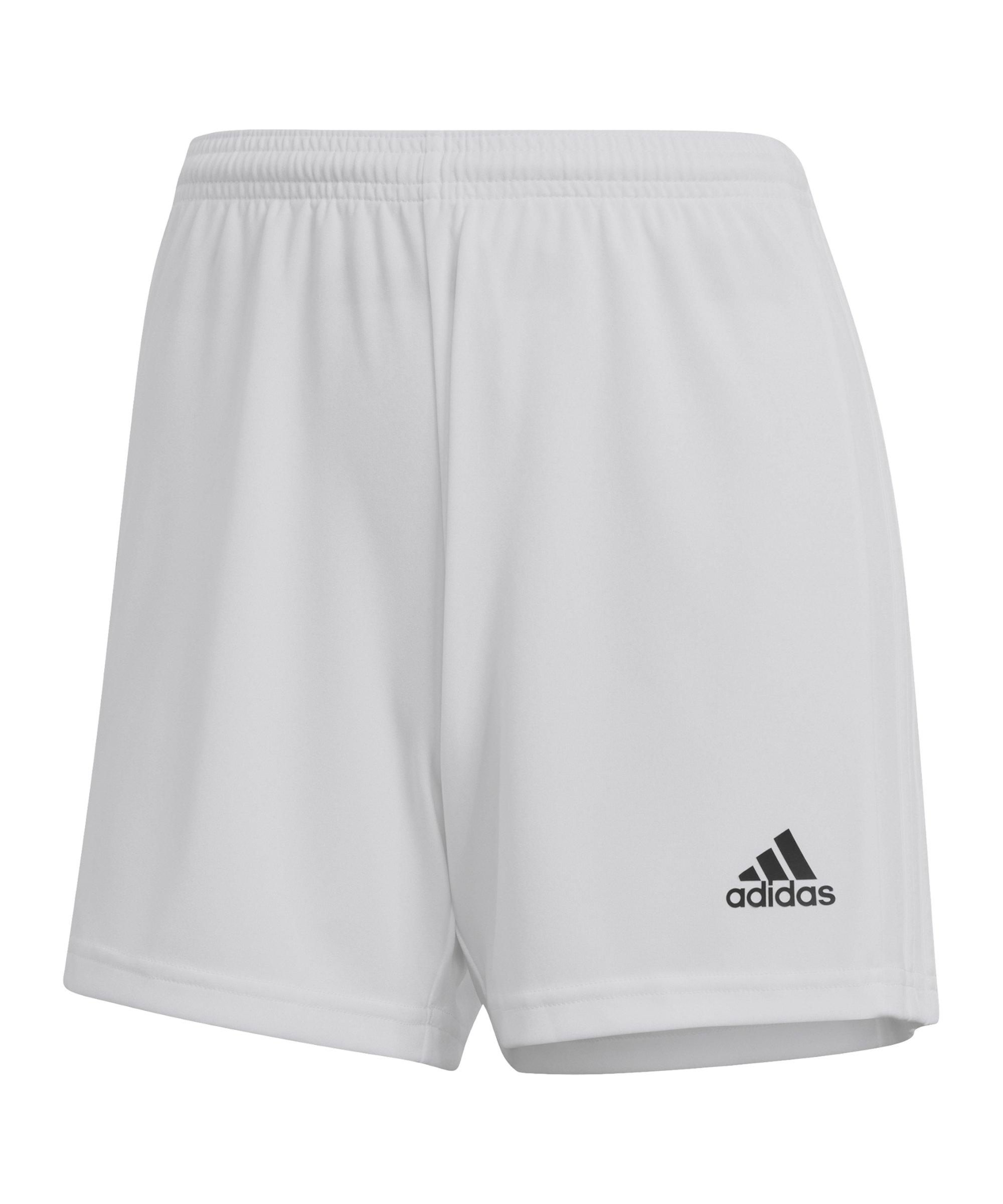adidas Squadra 21 Short Damen Weiss - weiss