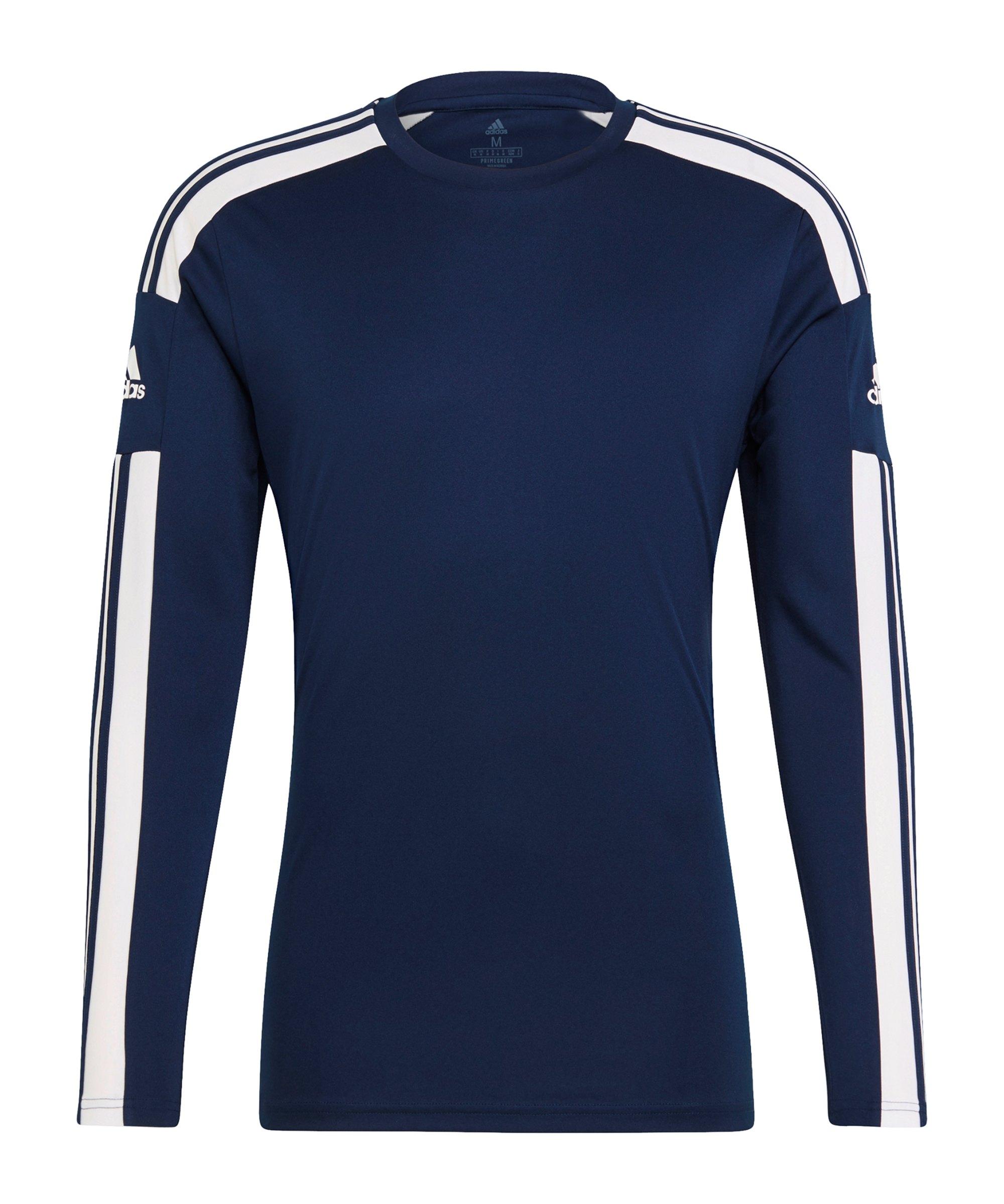 adidas Squadra 21 Trikot langarm Blau - blau