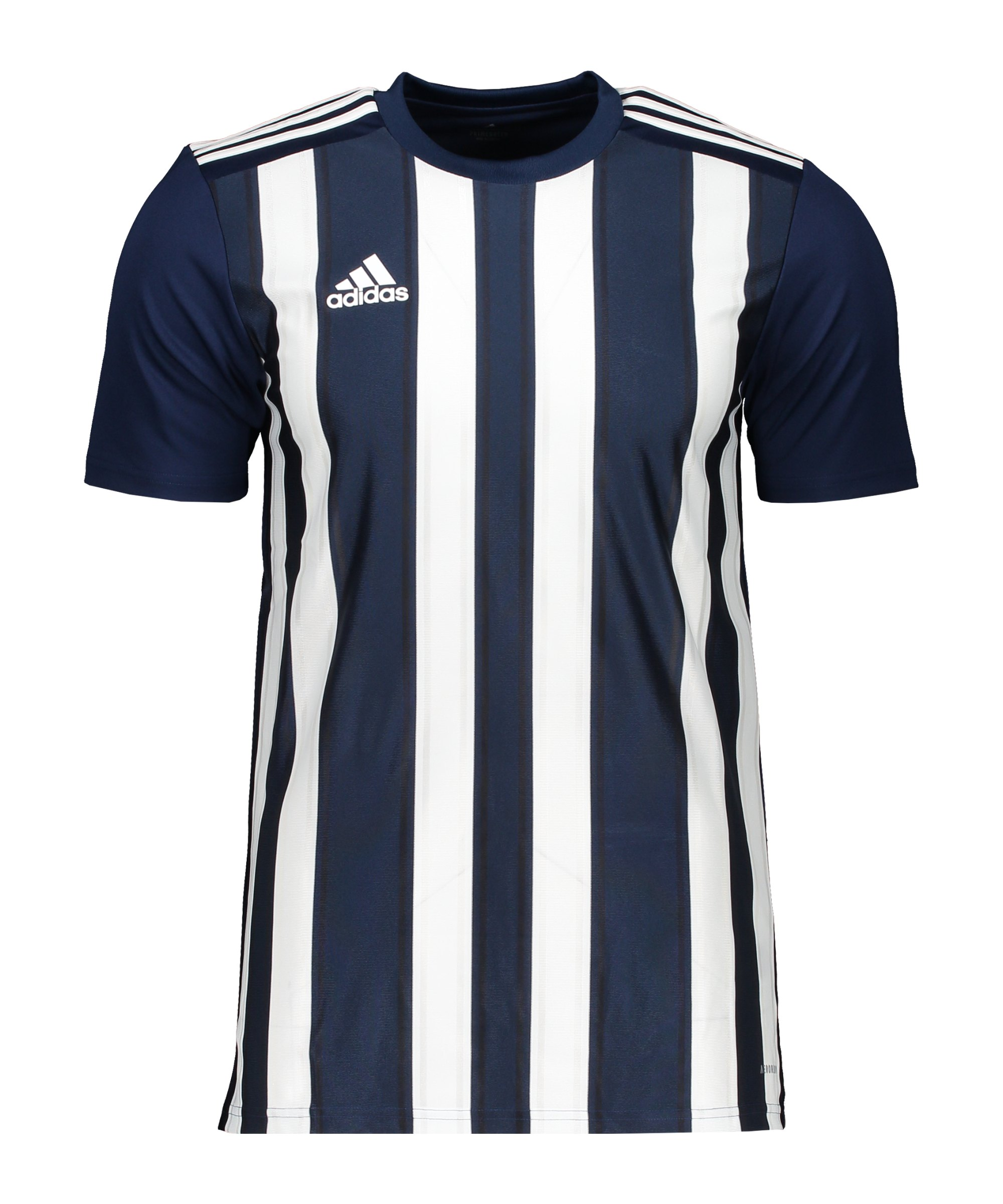 adidas Striped 21 Trikot Dunkelblau Weiss - blau