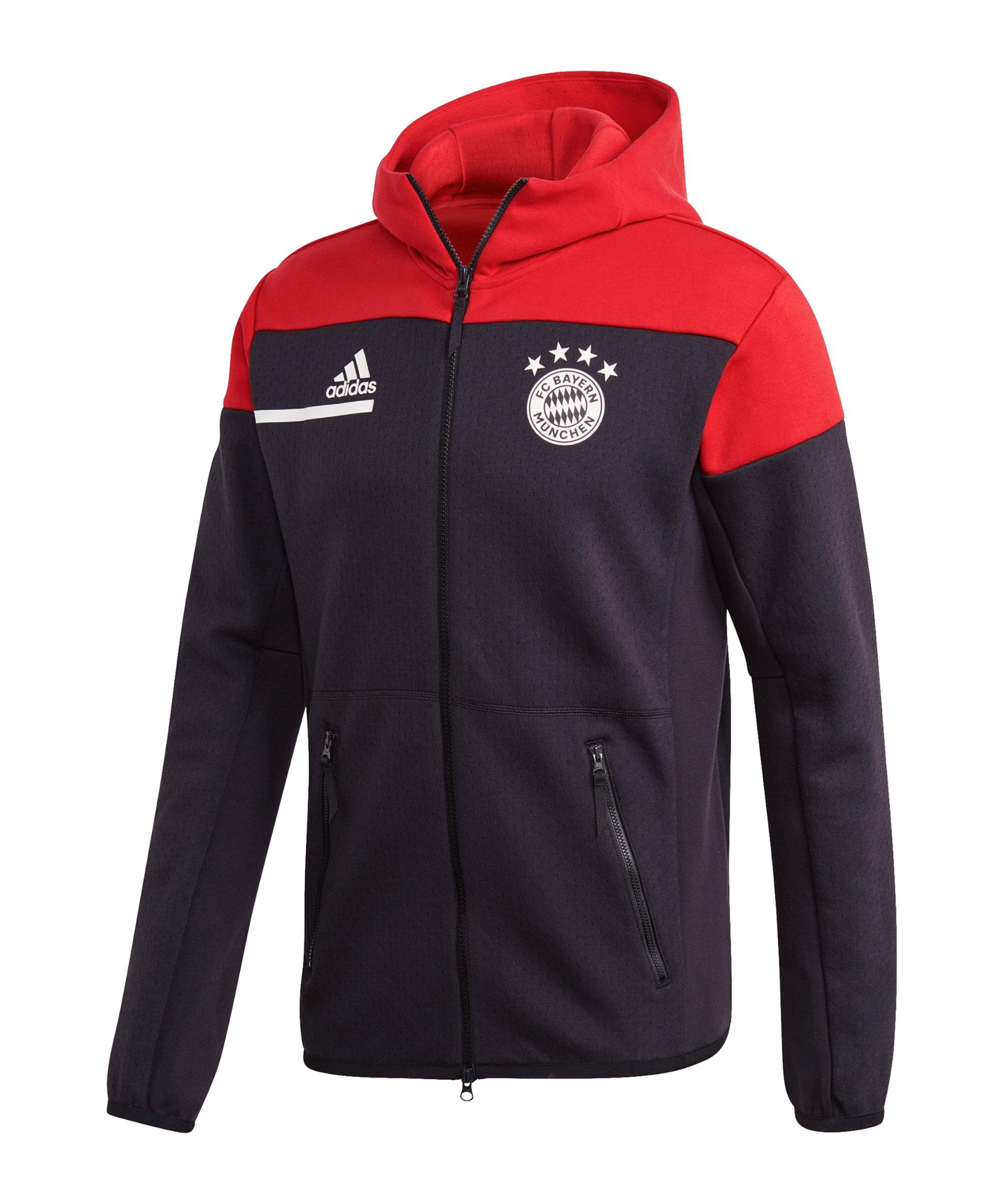 adidas FC Bayern München Z.N.E. Anthem Jacket - schwarz