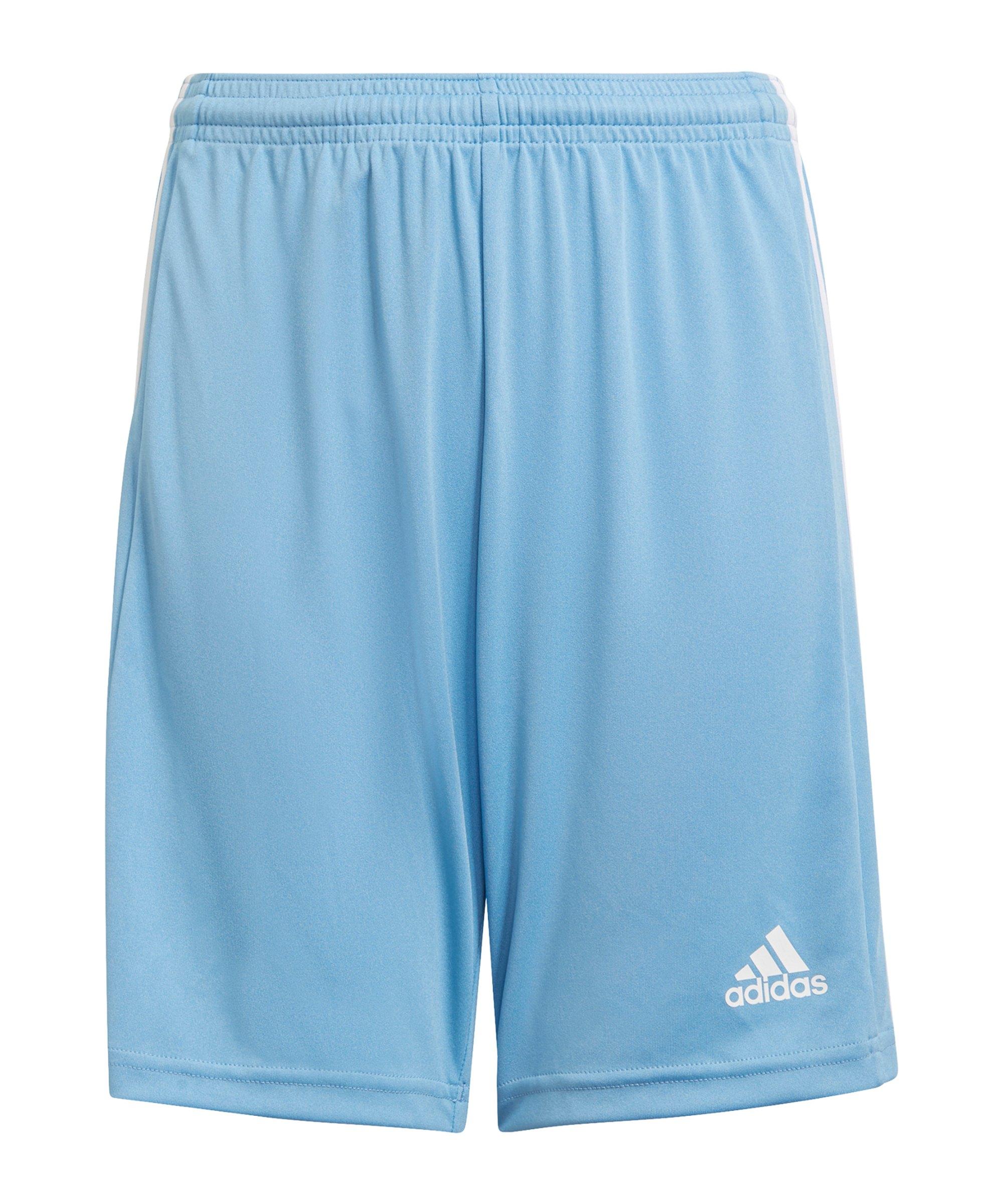 adidas Squadra 21 Short Kids Blau - blau