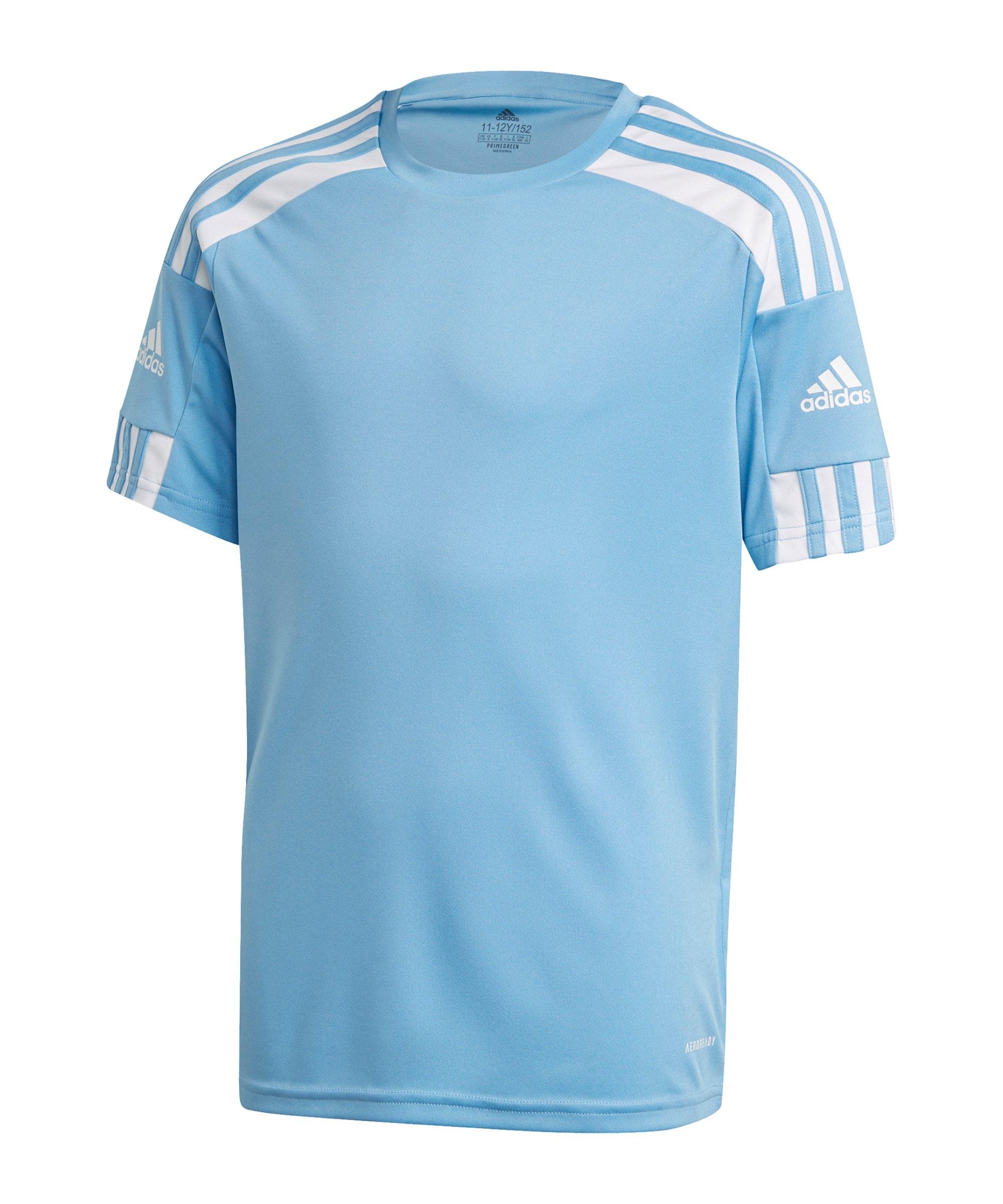 adidas Squadra 21 Trikot Kids Hellblau - blau