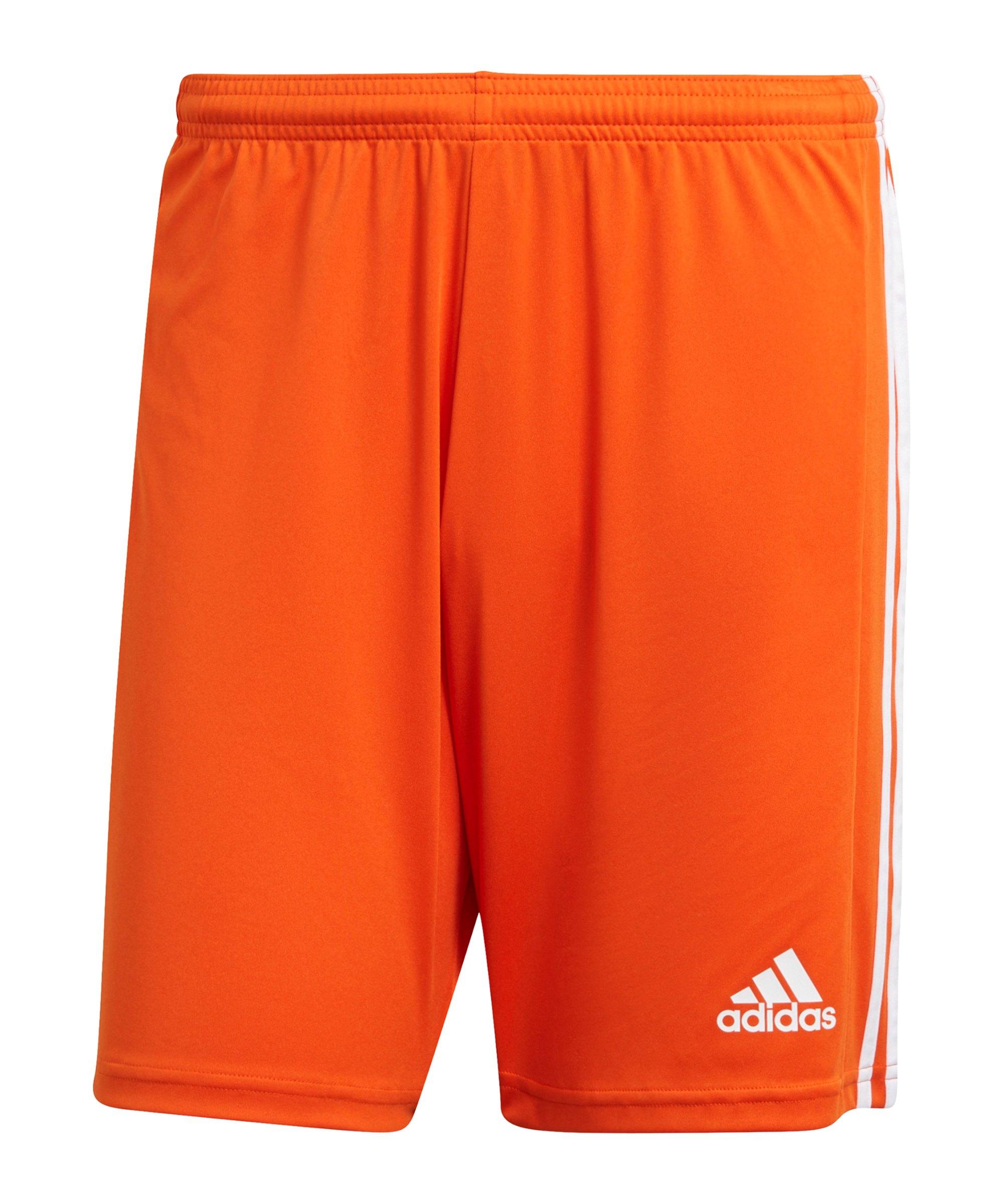 adidas Squadra 21 Short Orange Weiss - orange
