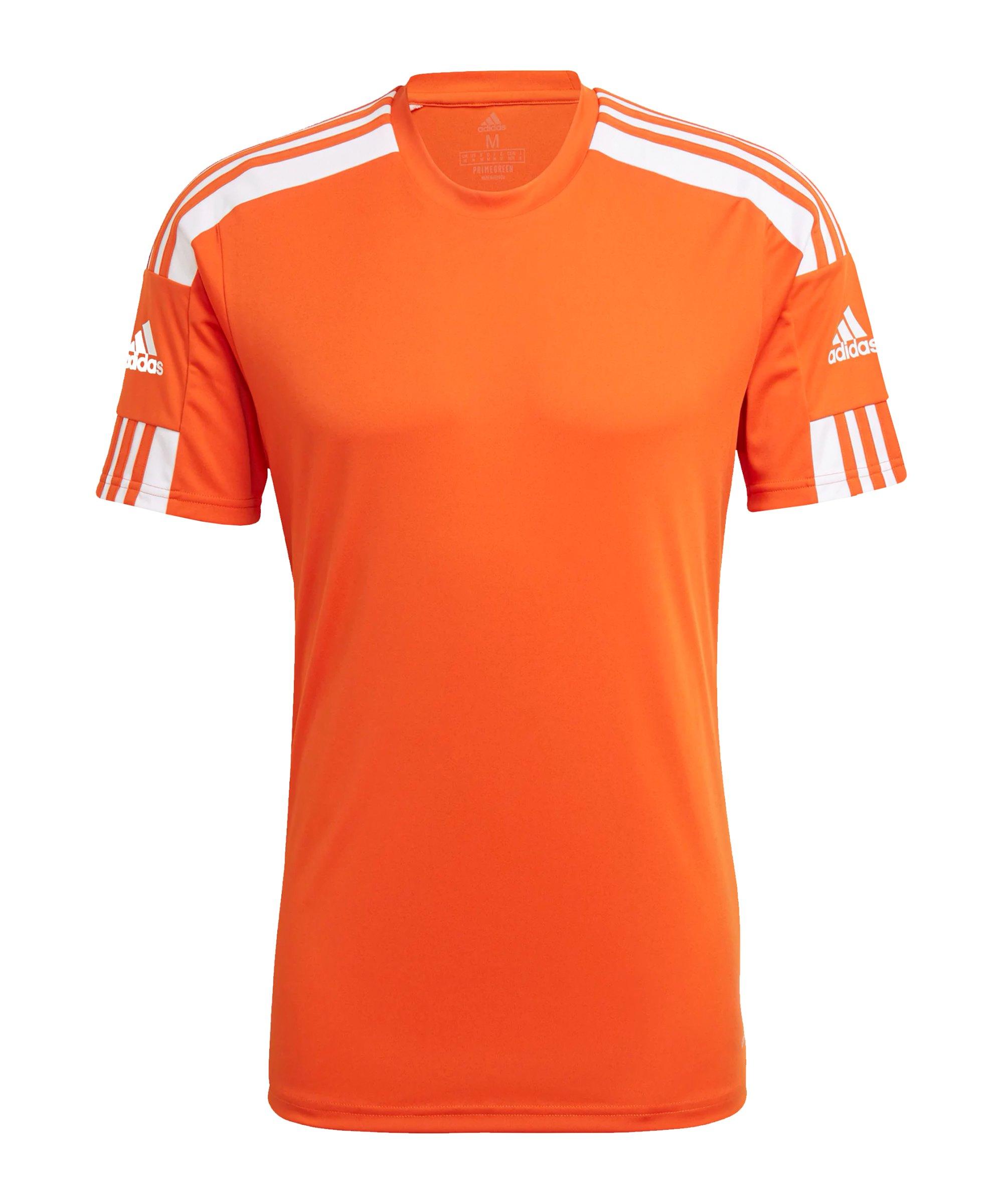adidas Squadra 21 Trikot Orange Weiss - orange