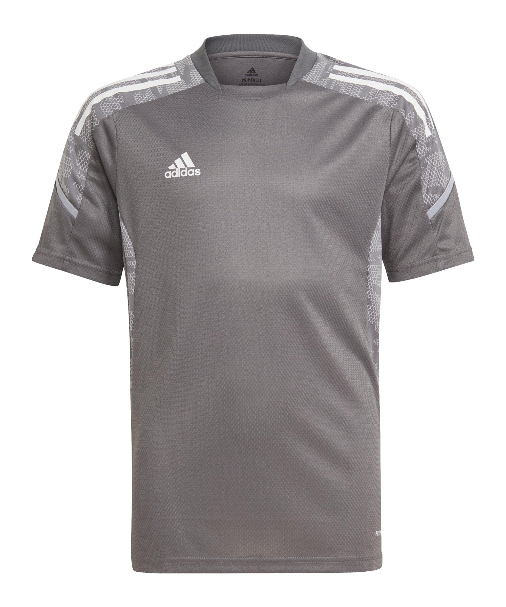 adidas Condivo 21 Trainingsshirt Kids Grau - grau