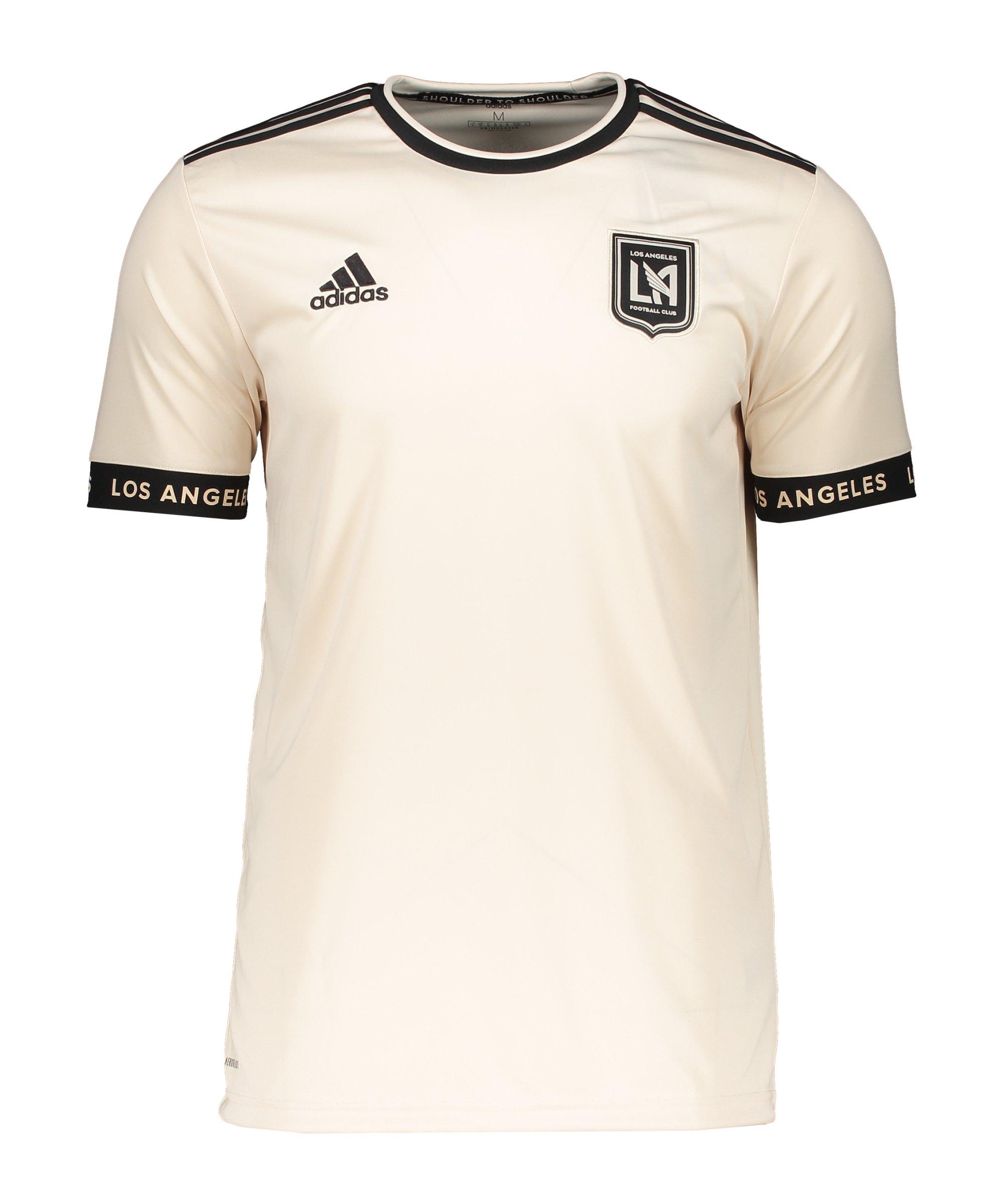 adidas Los Angeles FC Trikot Away 2021/2022 Beige - beige