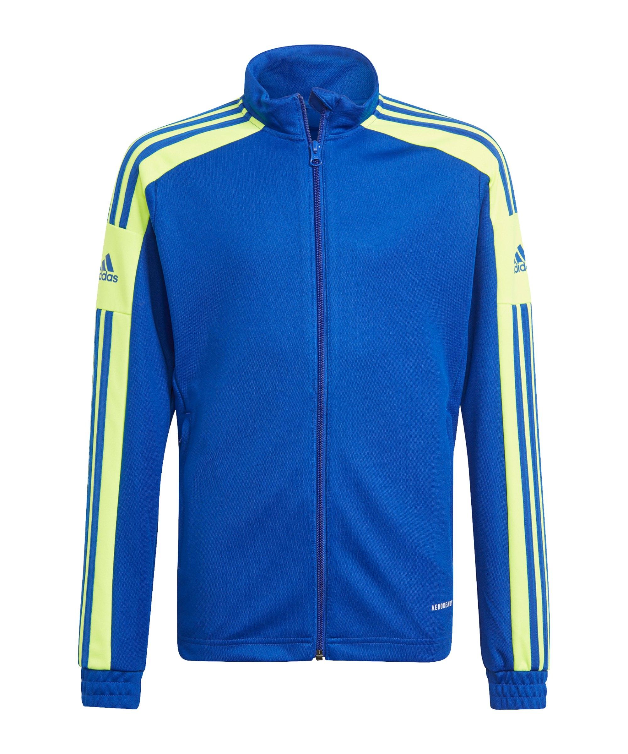adidas Squadra 21 Trainingsjacke Kids Blau - blau