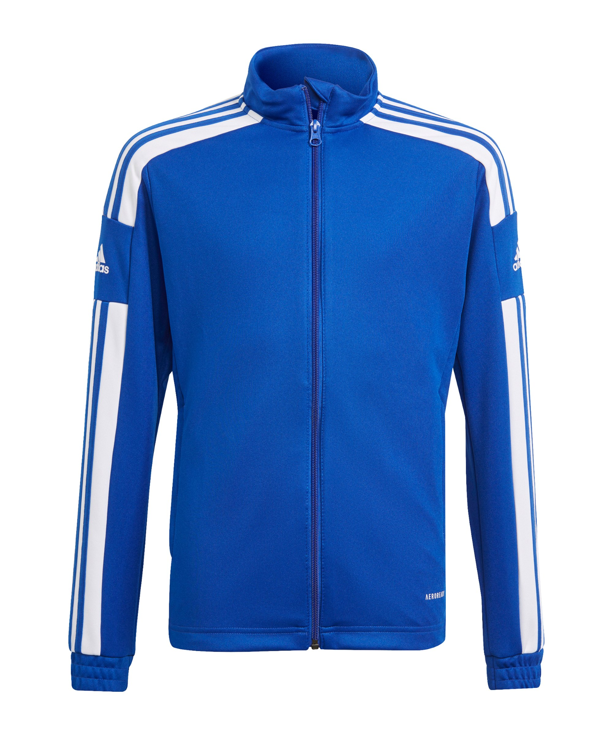 adidas Squadra 21 Trainingsjacke Kids Blau Weiss - blau