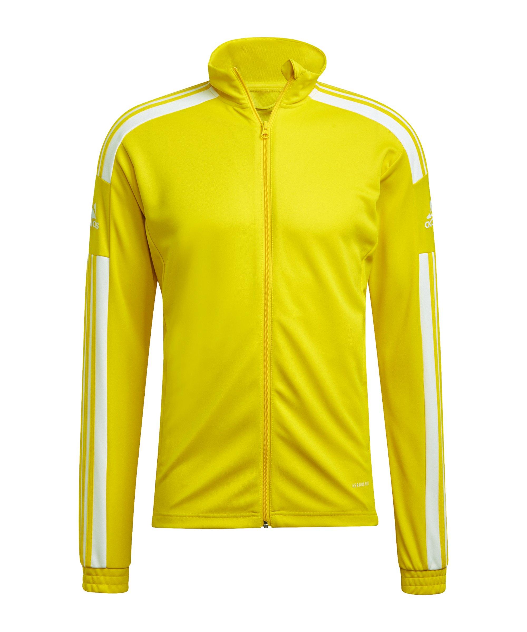 adidas Squadra 21 Trainingsjacke Gelb - gelb