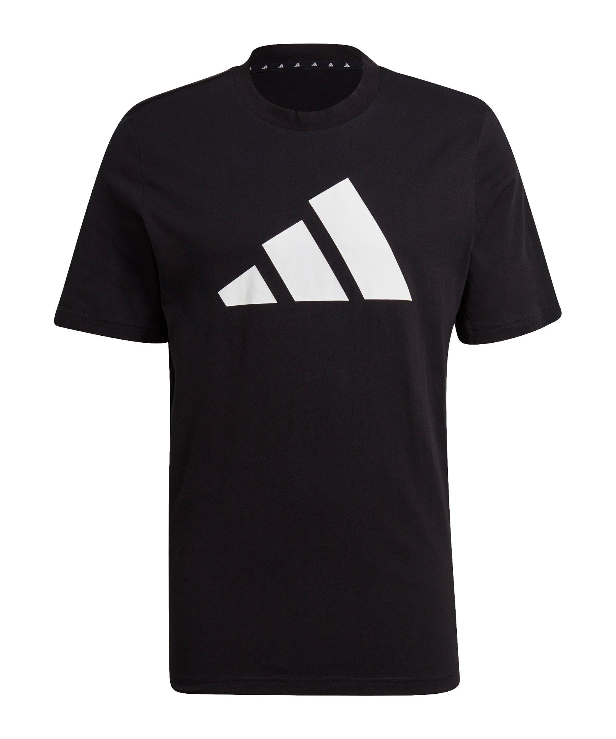 adidas BOS T-Shirt Schwarz Weiss - schwarz