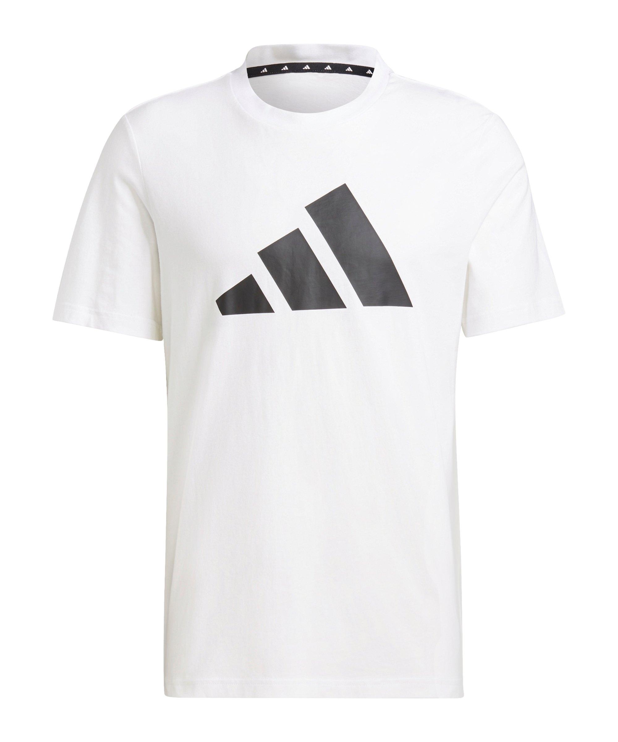 adidas BOS T-Shirt Weiss Schwarz - weiss