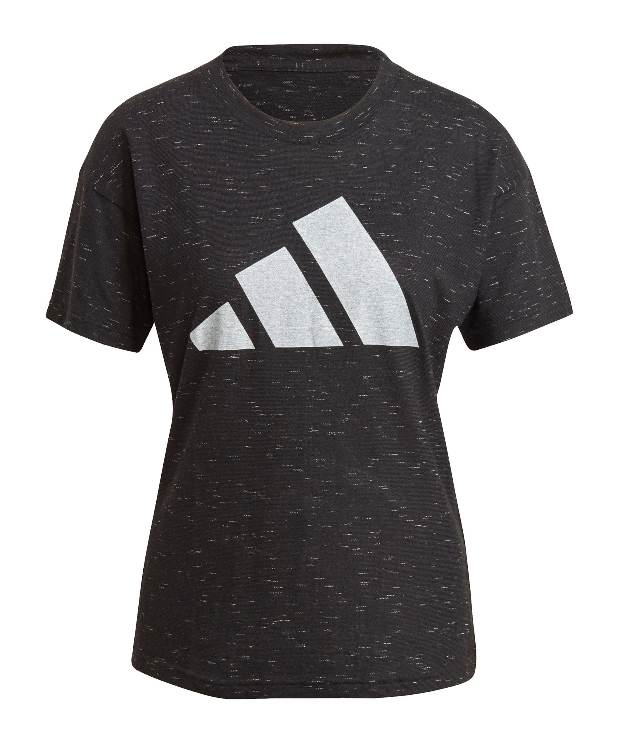 adidas Winners 2.0 T-Shirt Damen Schwarz - schwarz