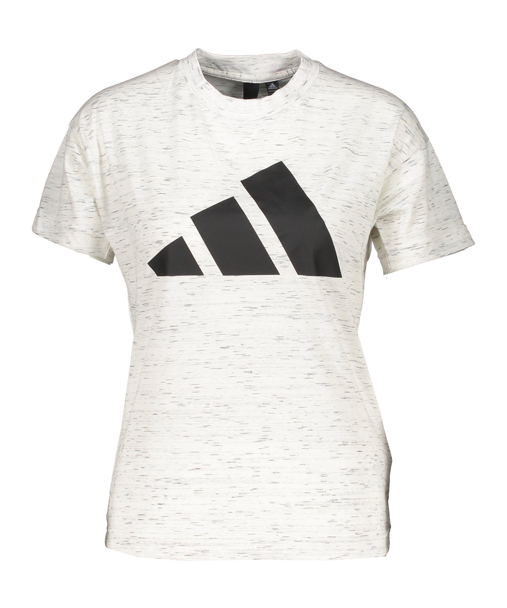 adidas Winners 2.0 T-Shirt Damen Weiss - weiss