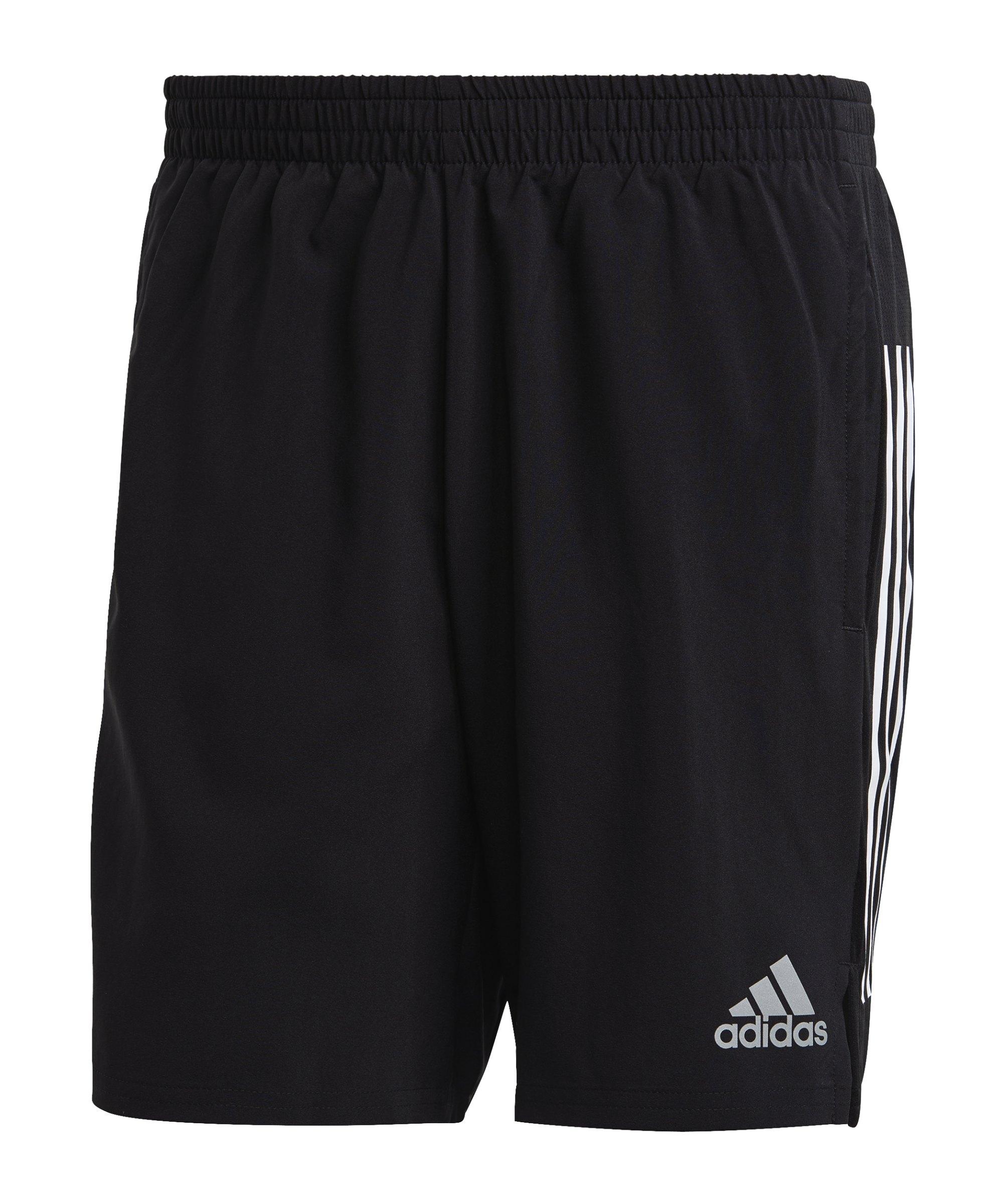 adidas Own the Running Short Schwarz - schwarz