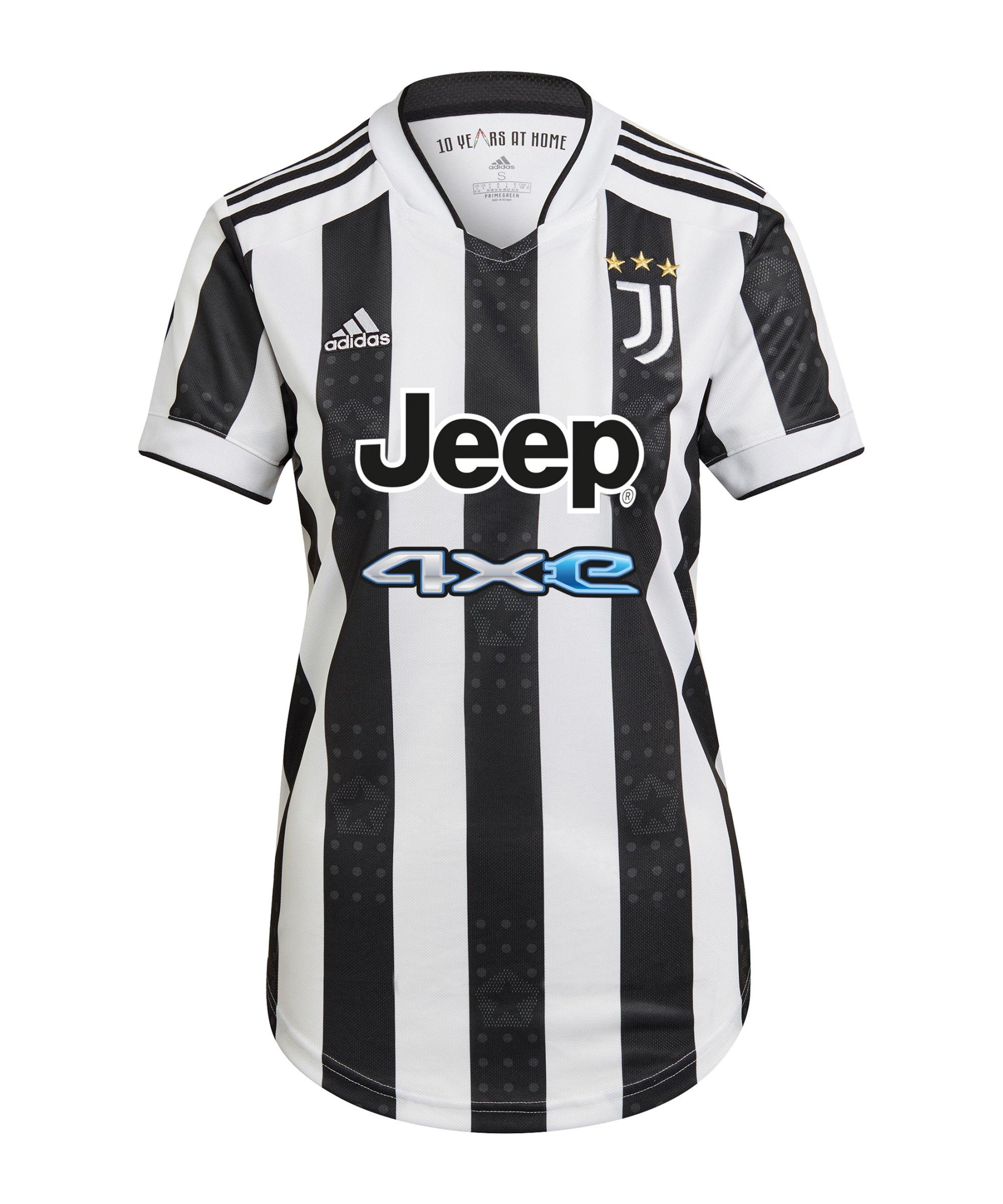 adidas Juventus Turin Trikot Home 2021/2022 Damen Weiss - weiss