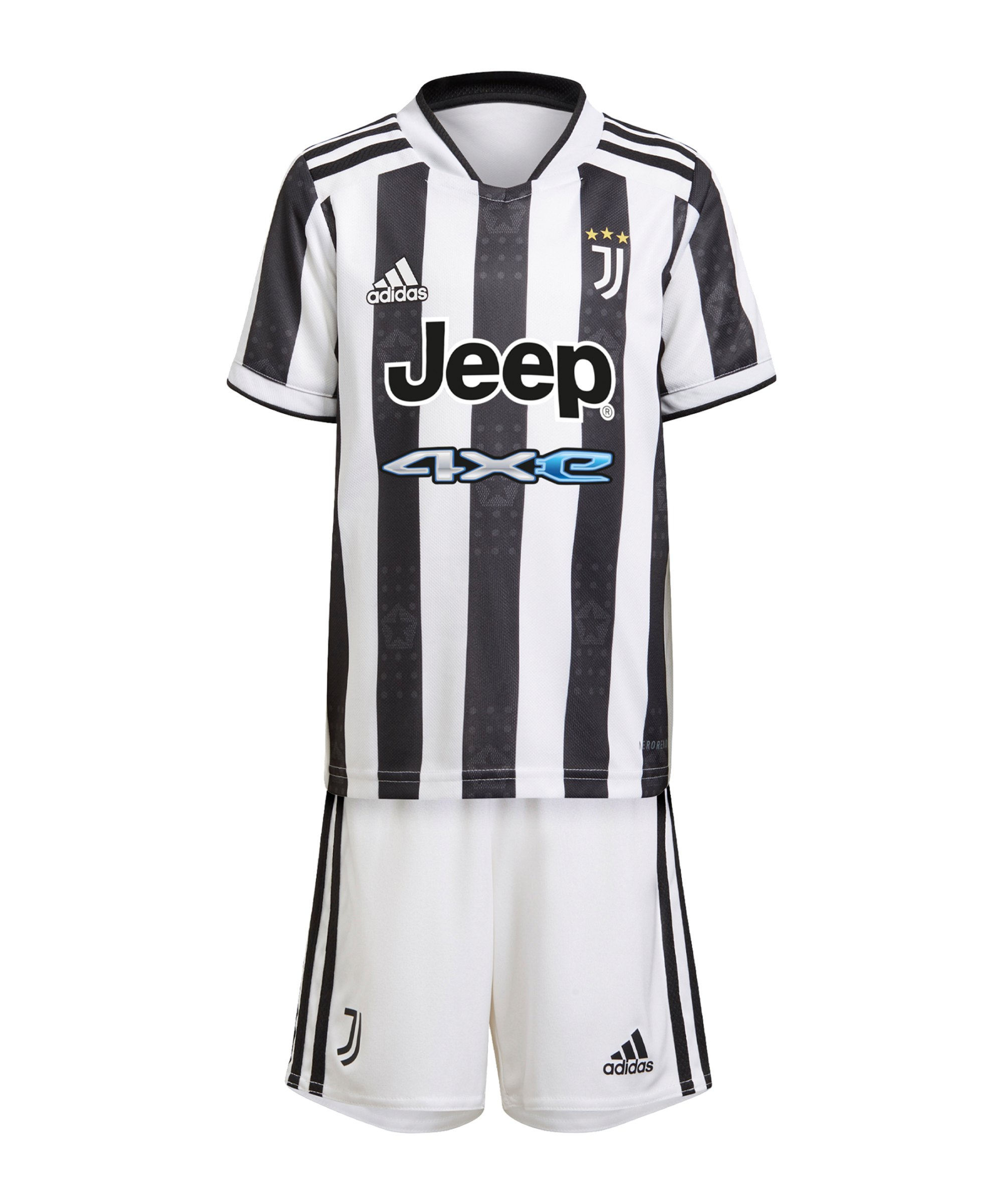 adidas Juventus Turin Minikit Home 2021/2022 Weiss - weiss