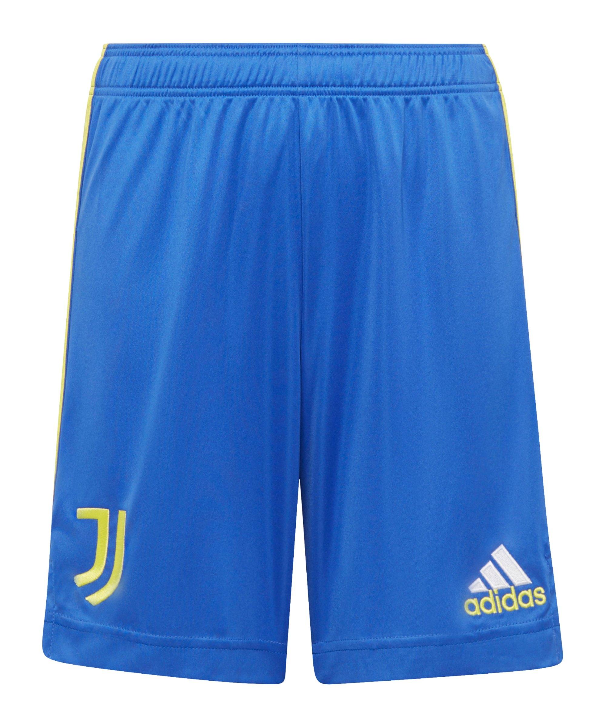 adidas Juventus Turin Short UCL 2021/2022 Kids Blau - blau