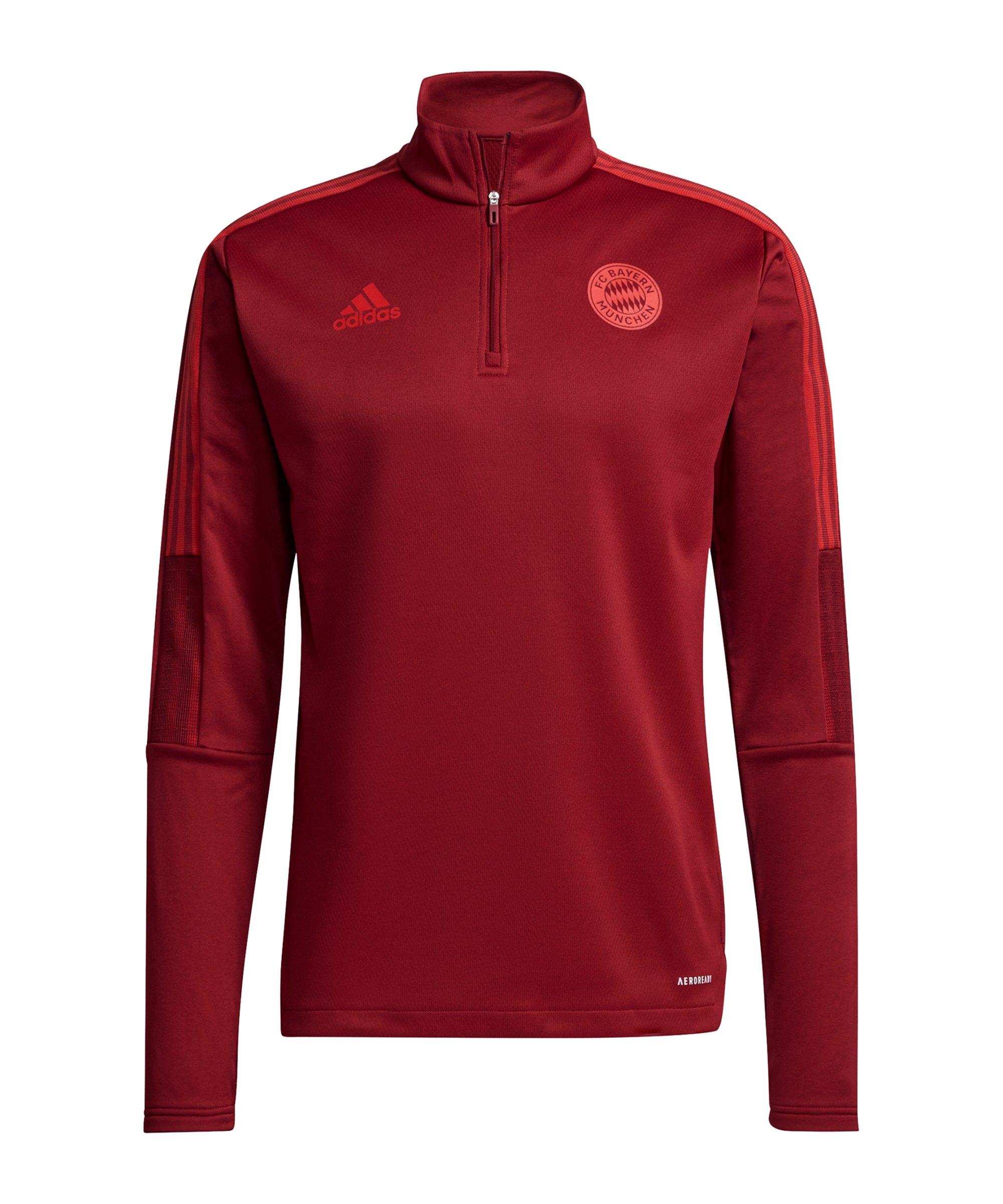adidas FC Bayern München Warm-Top Rot - rot