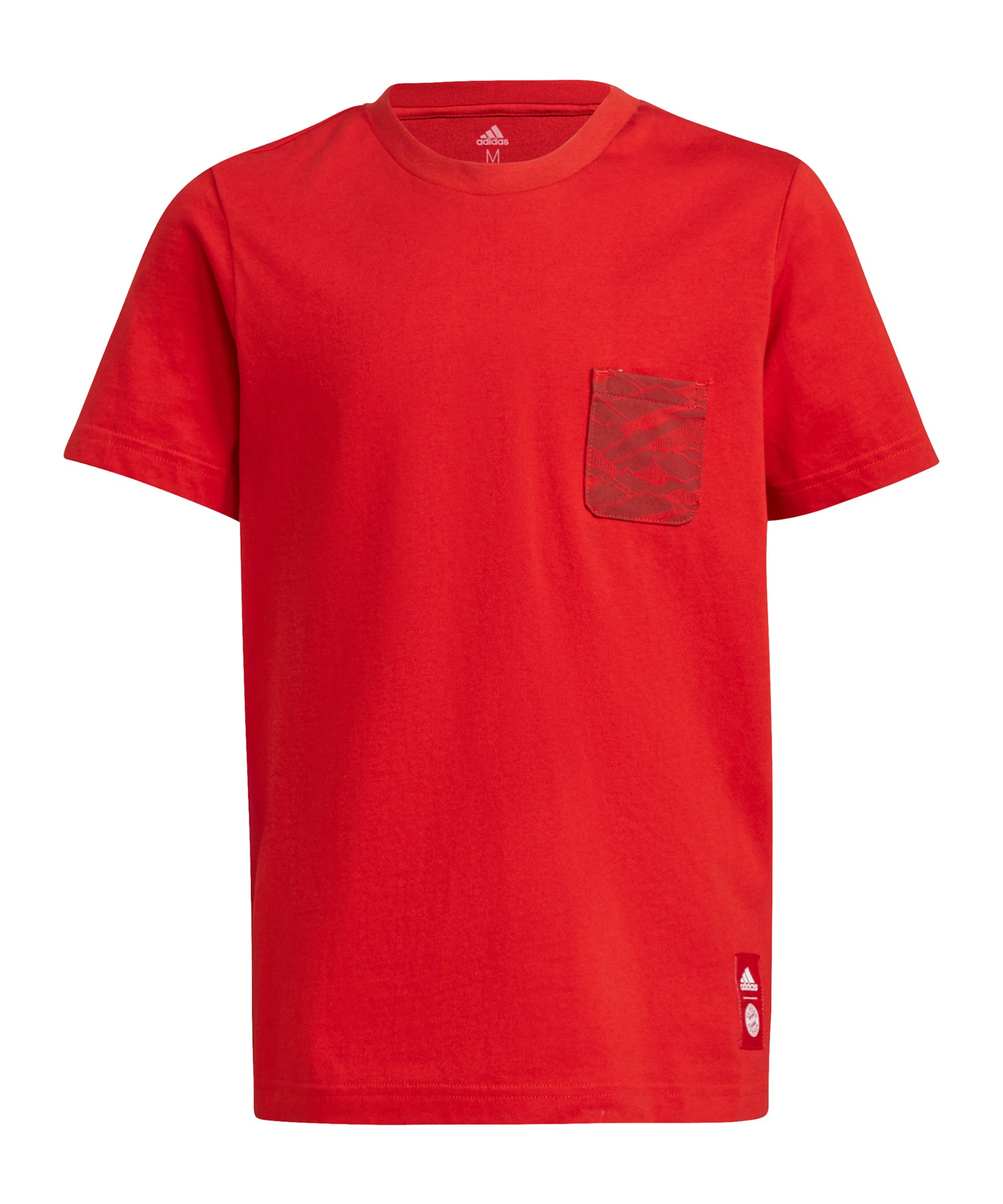 adidas FC Bayern München T-Shirt Kids Rot - rot