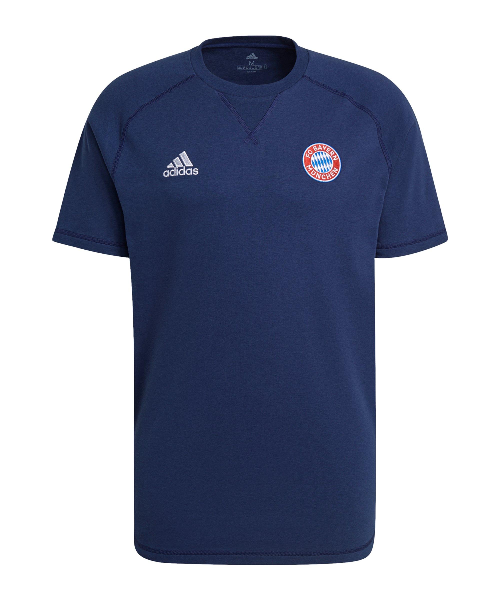 adidas FC Bayern München T-Shirt Blau - blau