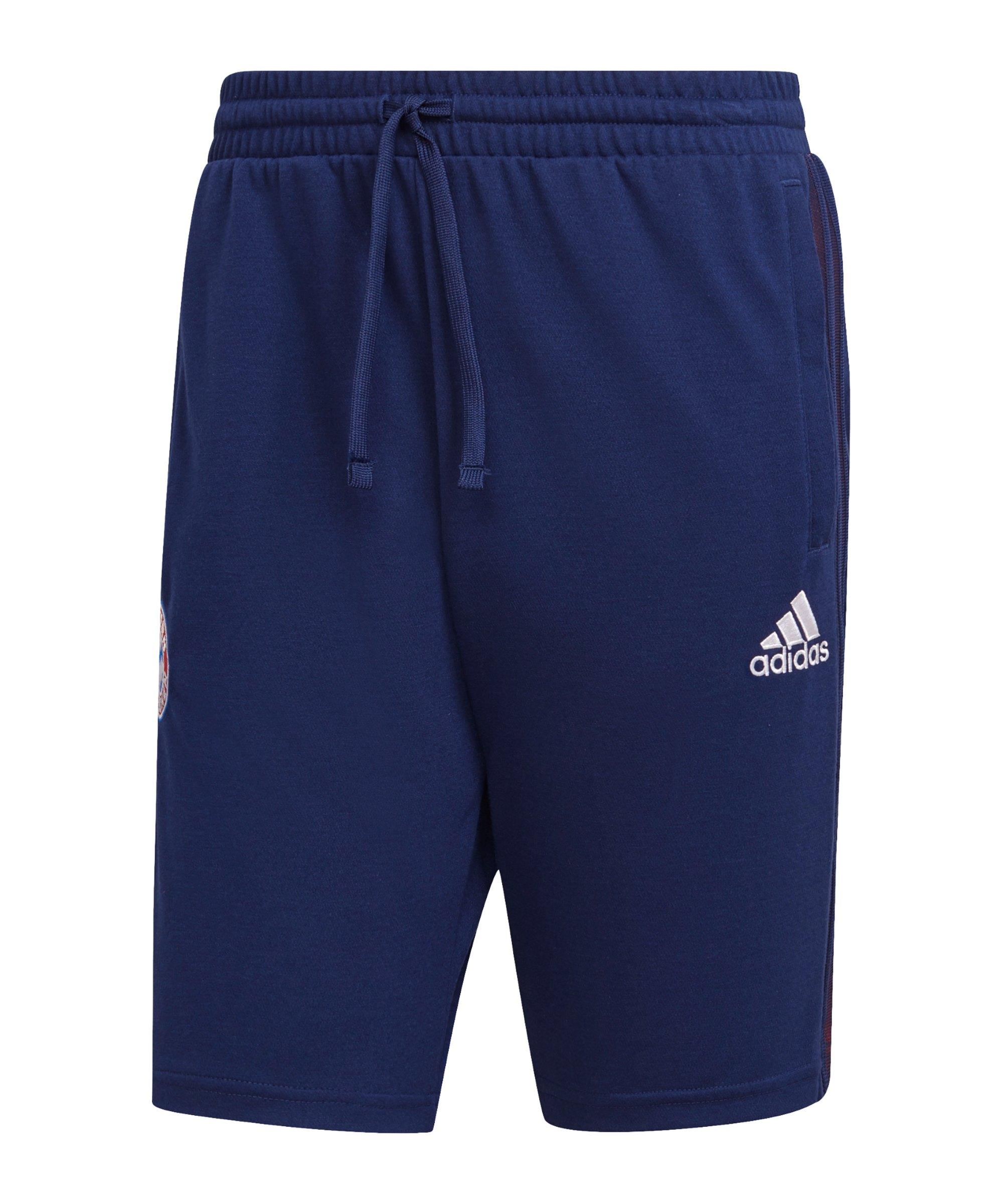 adidas FC Bayern München Short Blau - blau