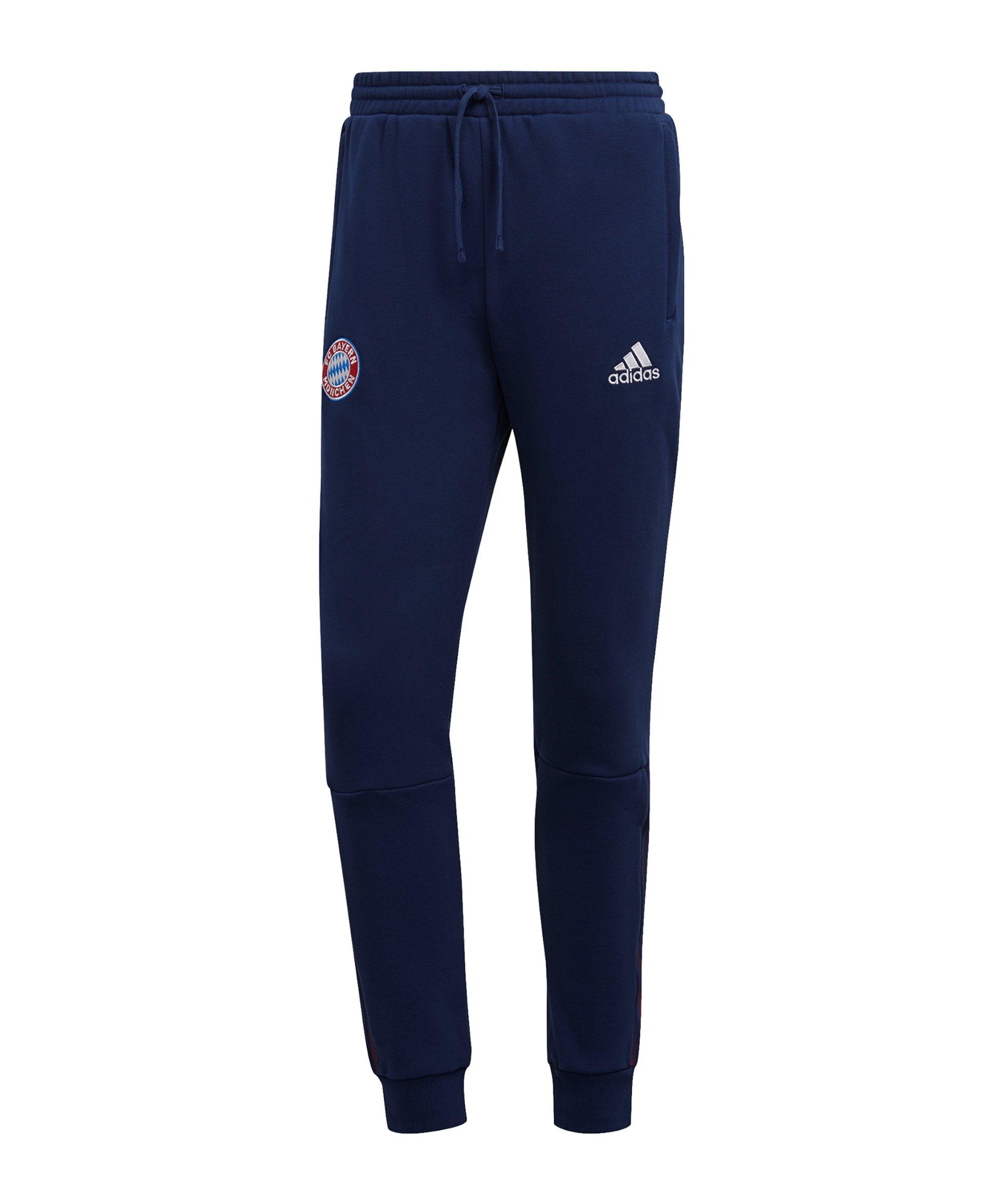 adidas FC Bayern München Jogginghose Blau - blau