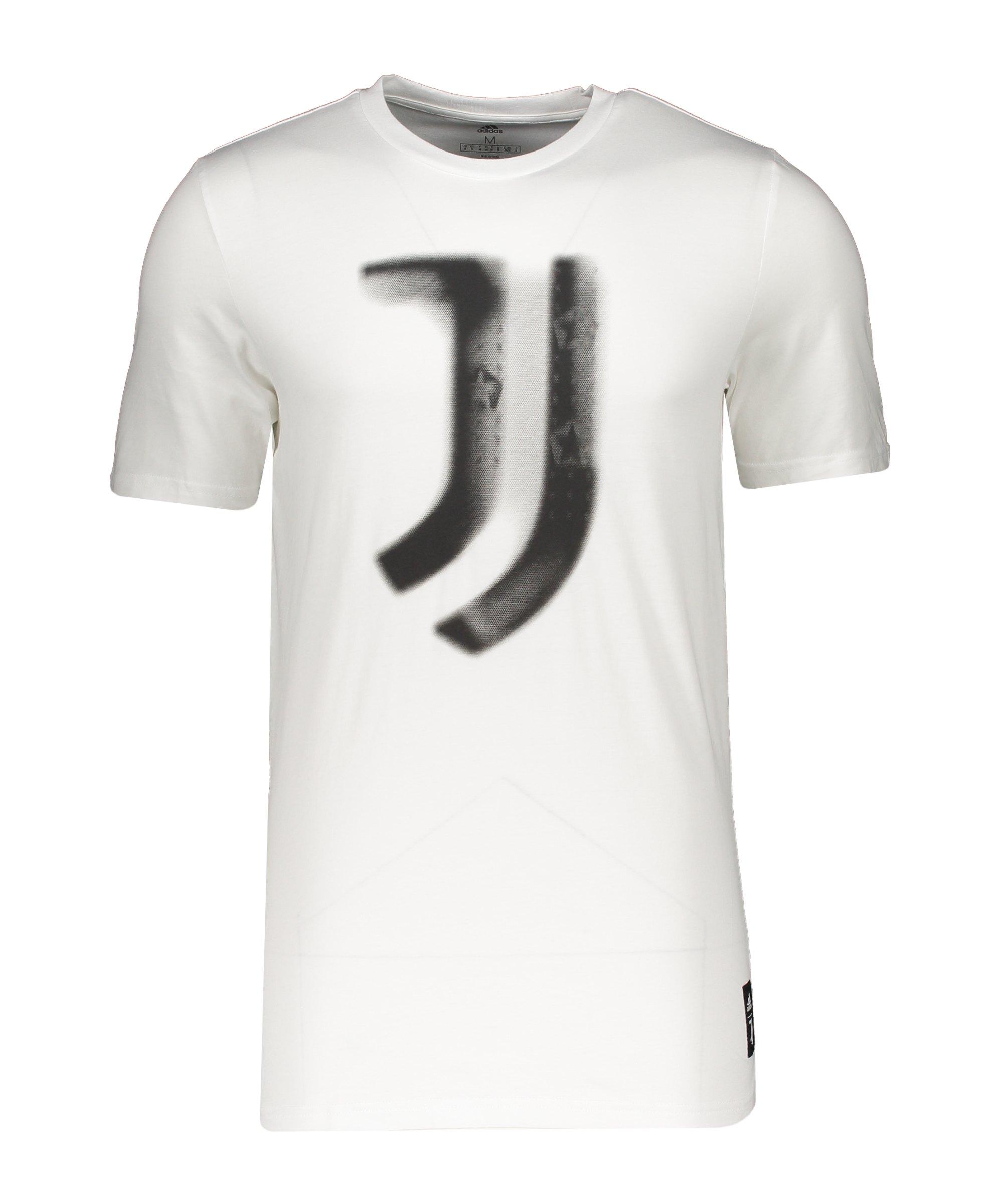 adidas Juventus Turin T-Shirt Weiss - weiss