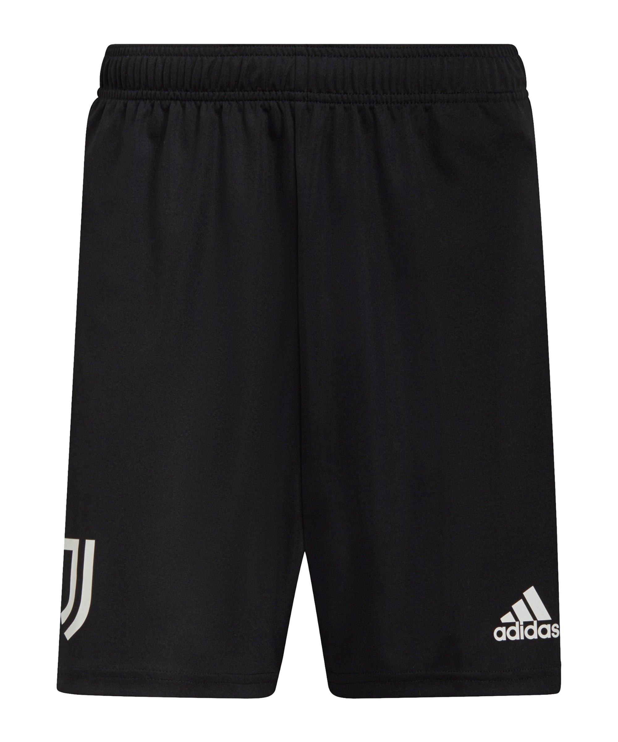 adidas Juventus Turin Trainingsshort Schwarz - schwarz