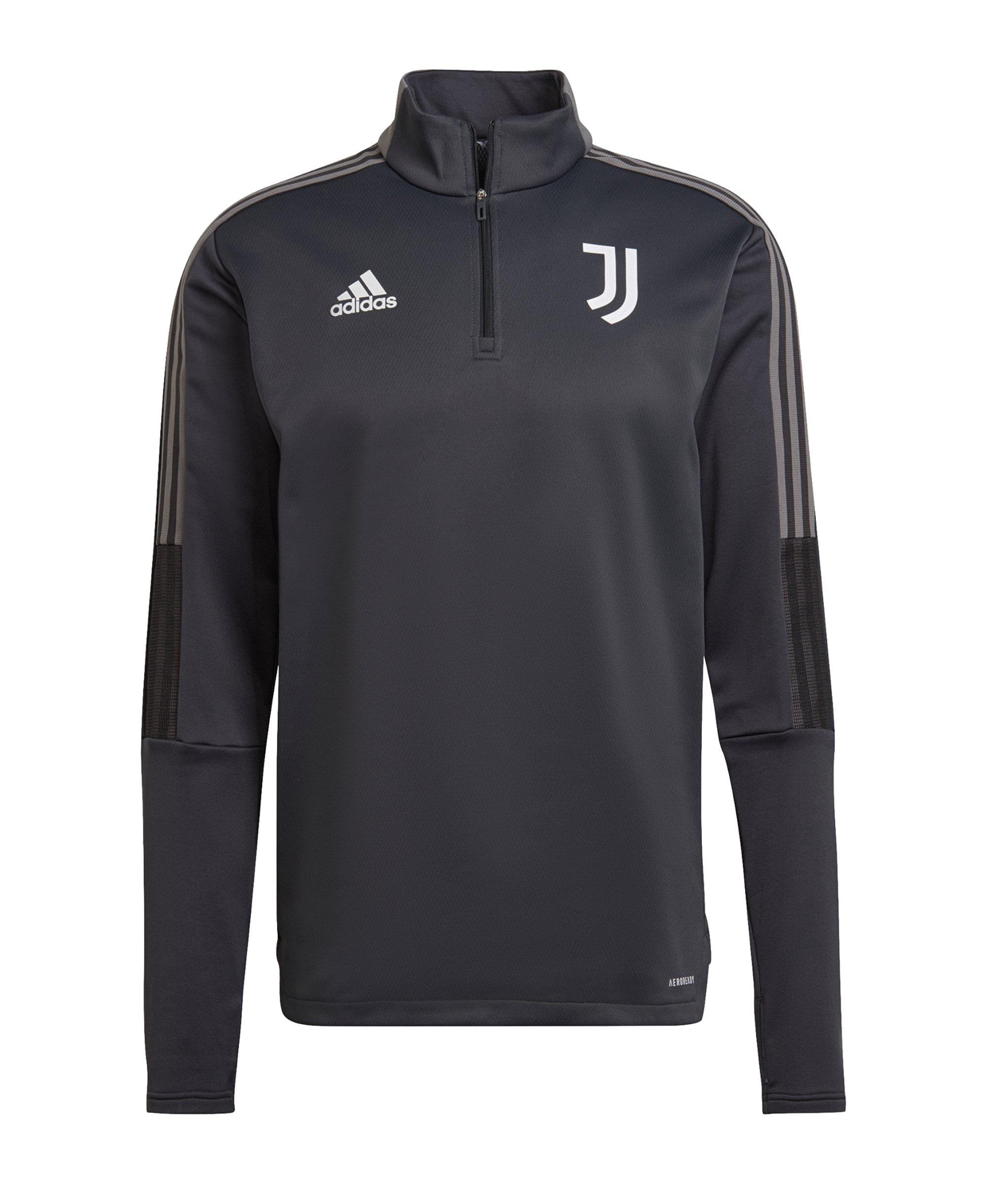 adidas Juventus Turin Warmtop Grau - grau